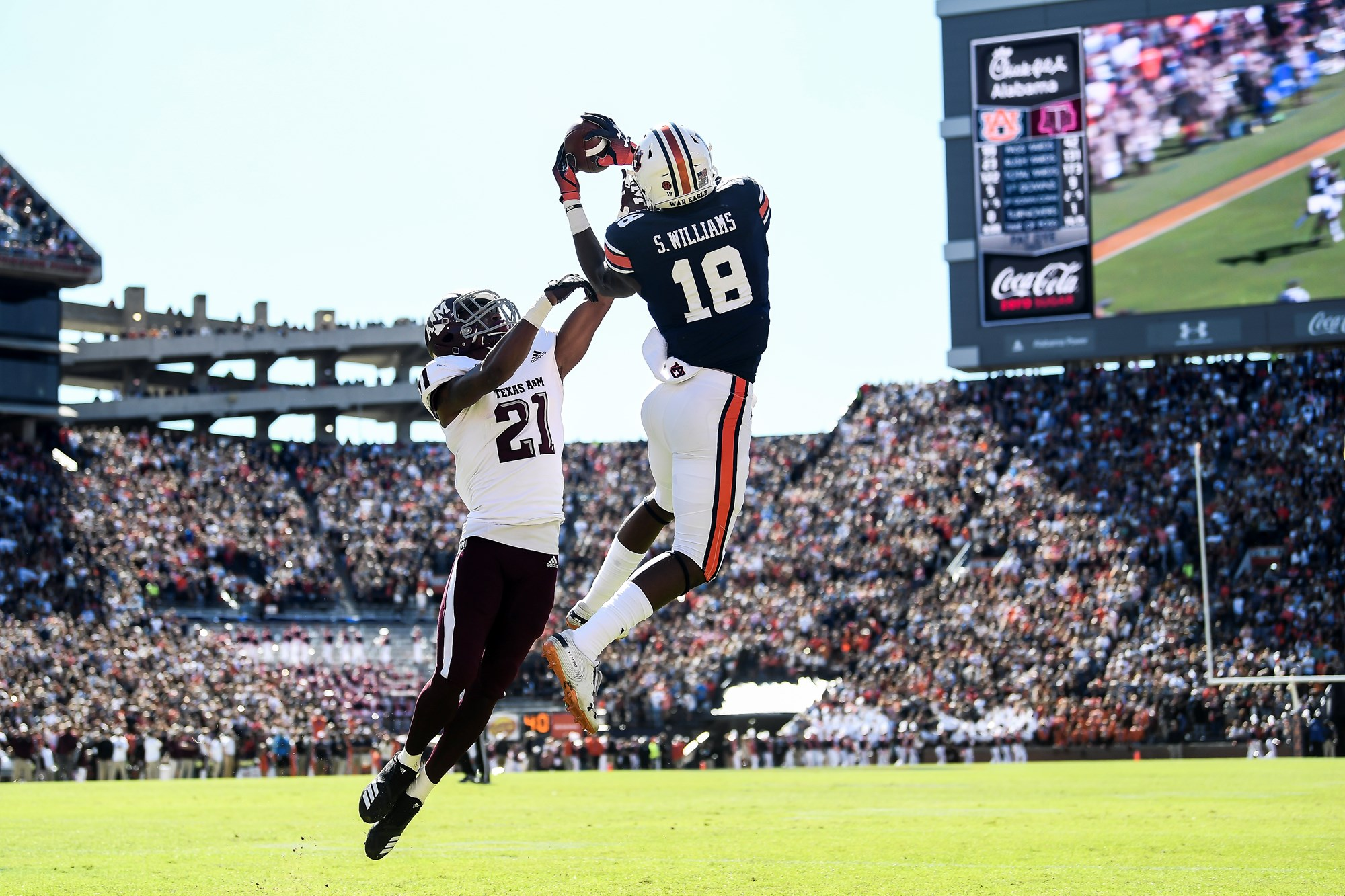 'A special win': Auburn defeats Texas A&M on late comeback ...