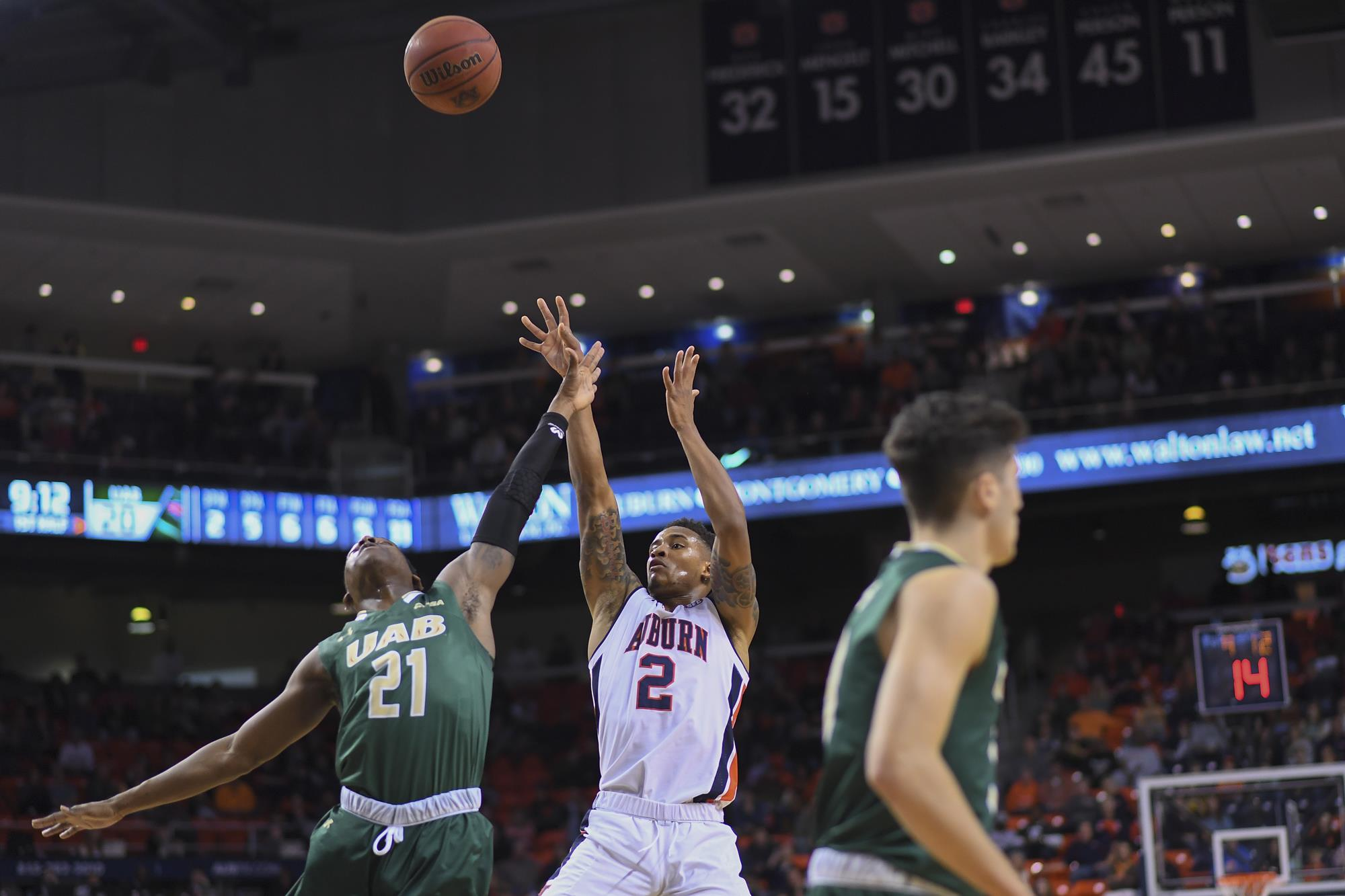 in-state battle: no. 8 auburn expects physical test from uab