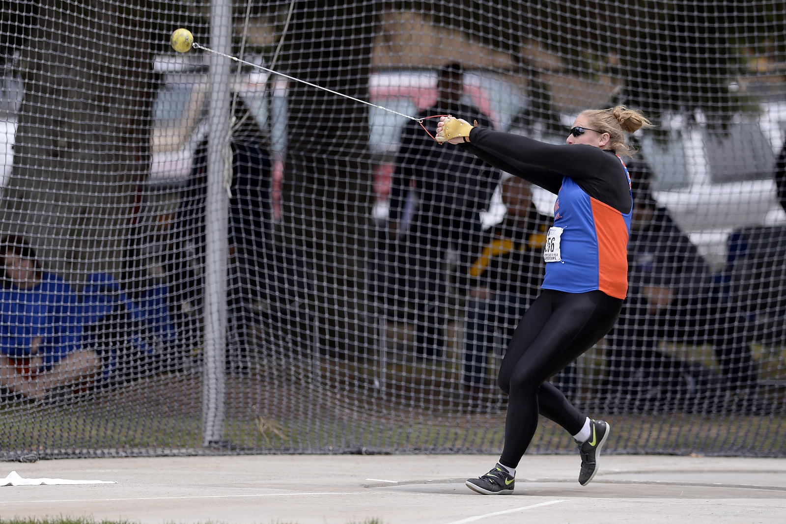 Hayli Bozarth is headed to Eugene, Ore. for nationals in the hammer throw