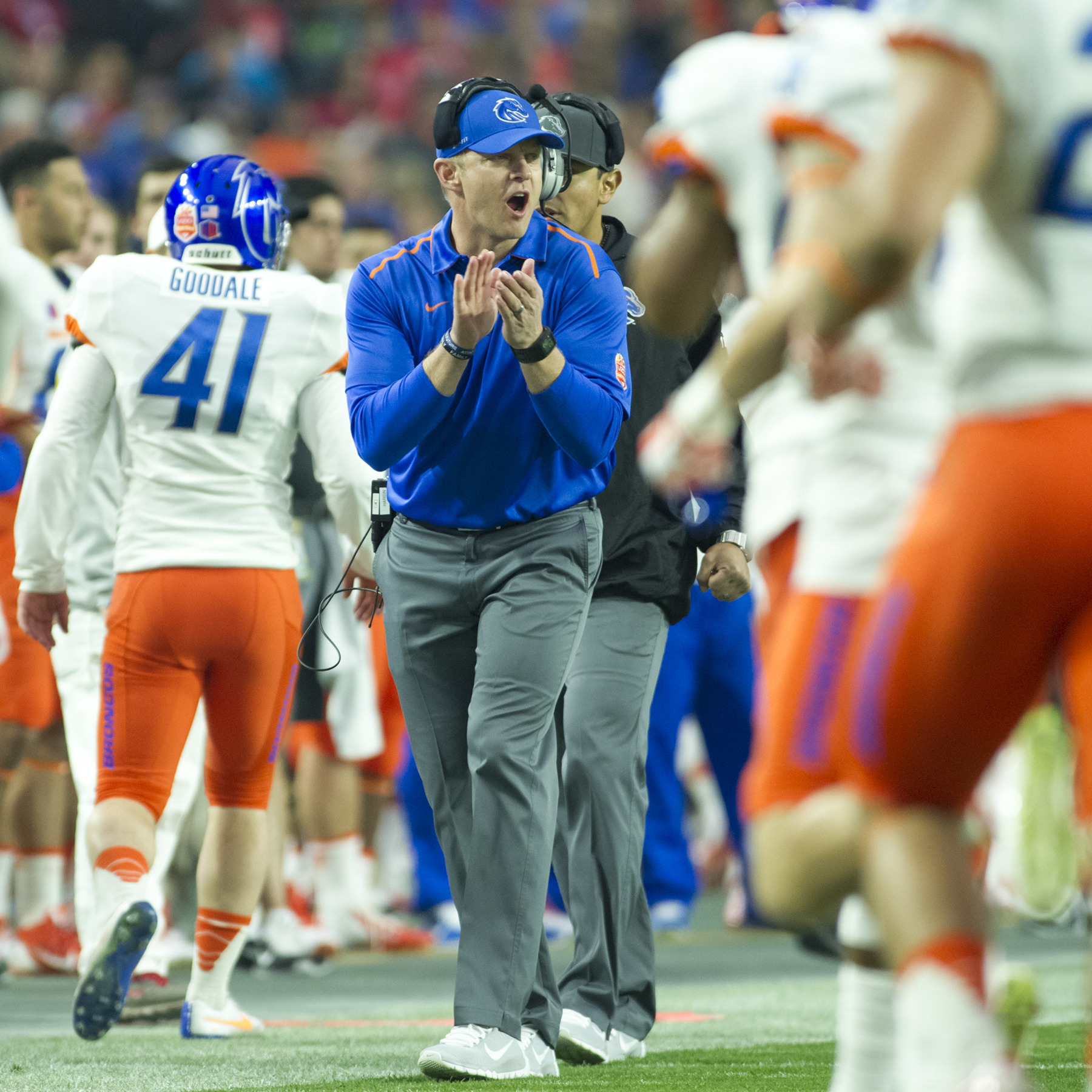 Harsin was honored as a finalist on Wednesday.