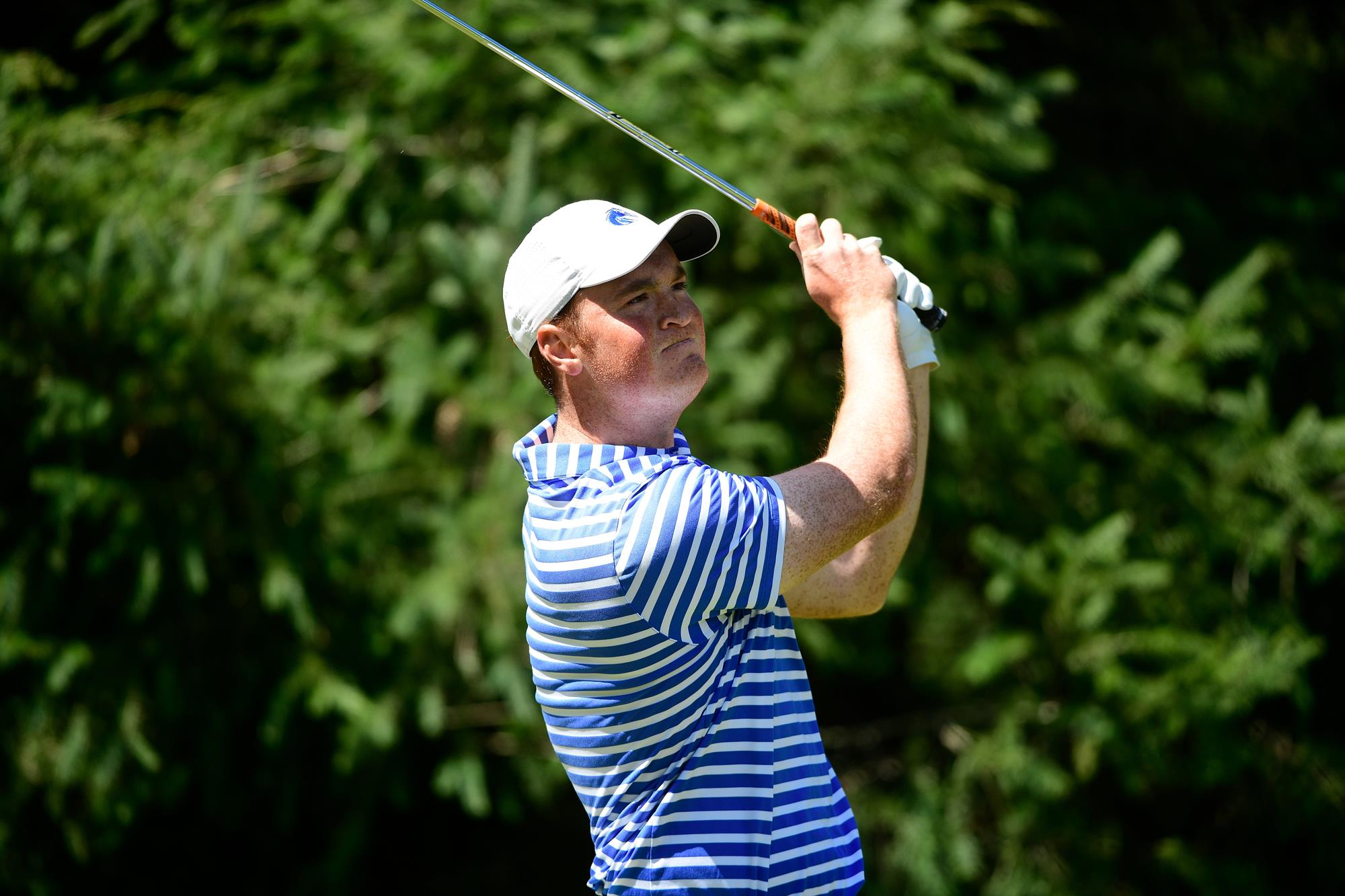 22 APR 2018: The 2018 Mountain West Men's Golf Championship is held at the Gold Mountain Golf Club in Bremerton, WA. Justin Tafoya/NCAA Photos