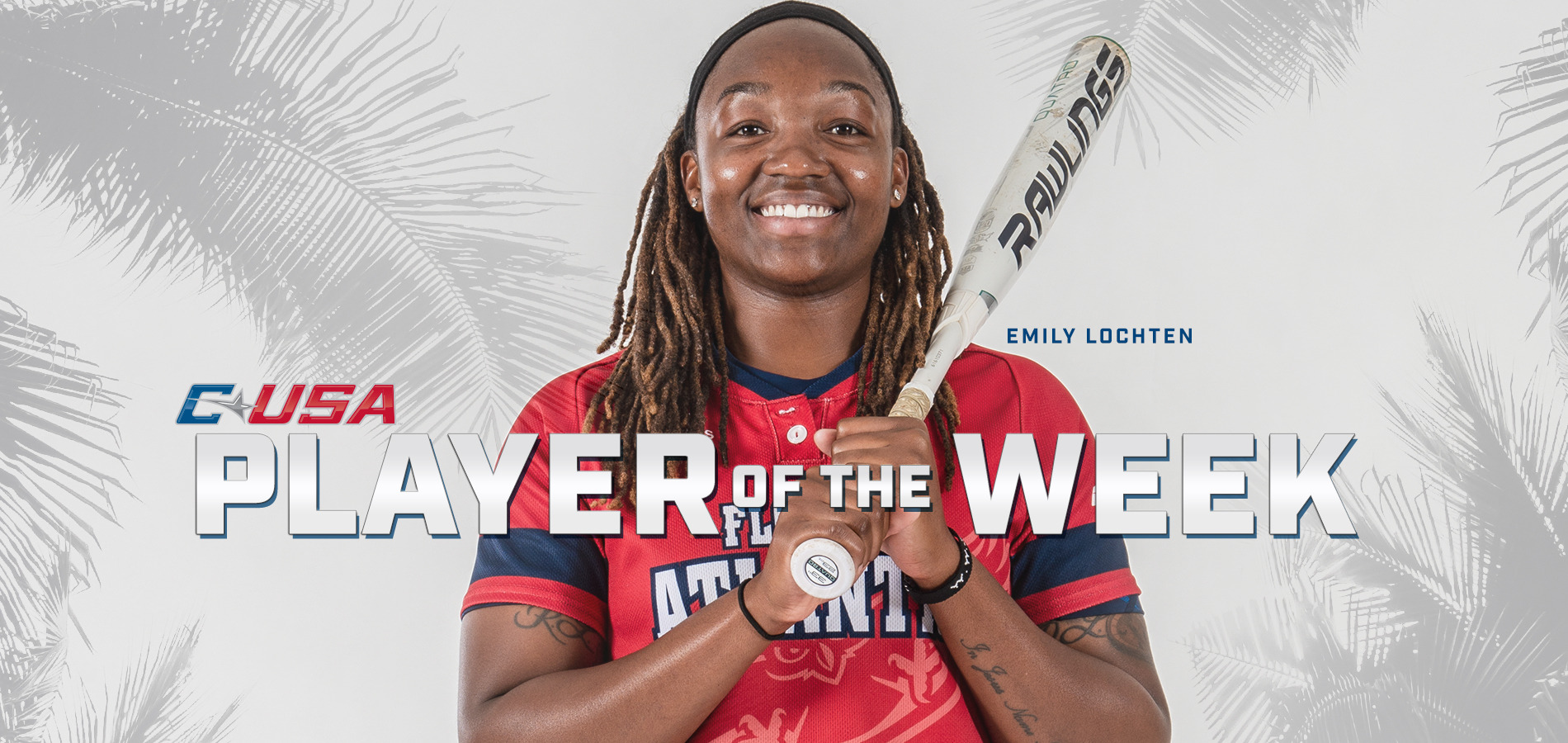 Emily Lochten was named C-USA Softball Player of the Week.