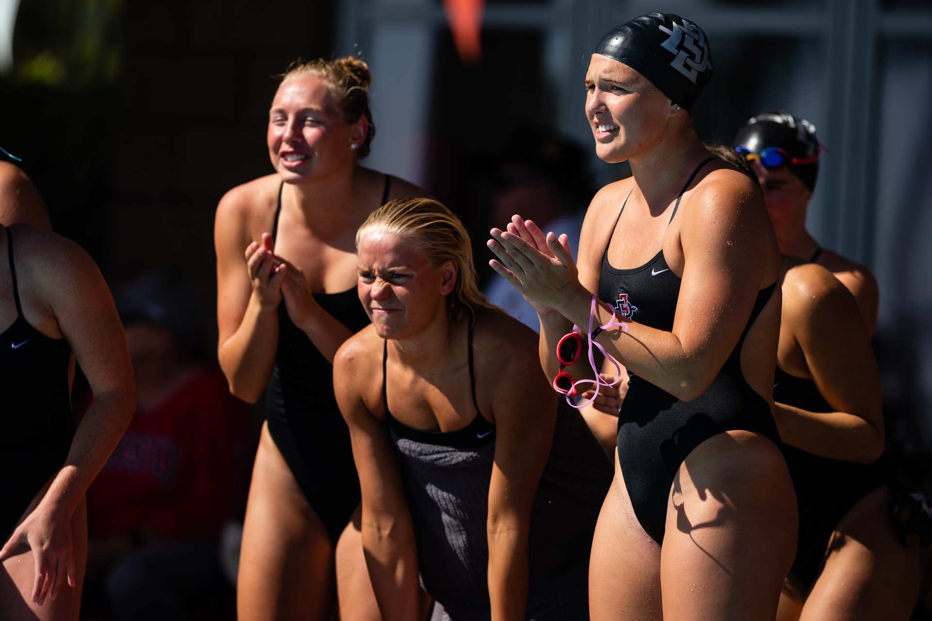 Swim dive claims second at chick fil a invite san diego - San diego state university swimming pool ...