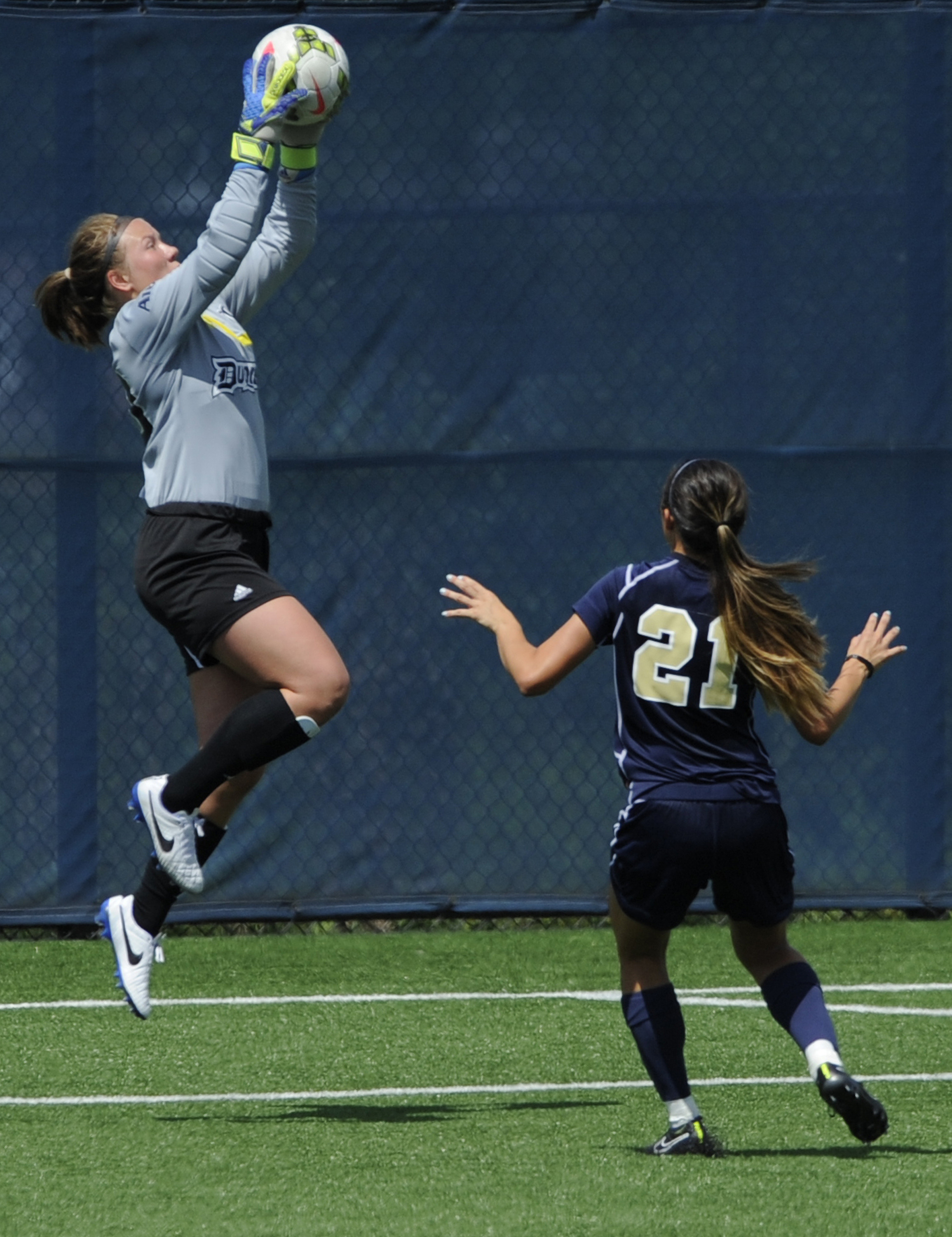 Devon Tabata finished the match with six saves.