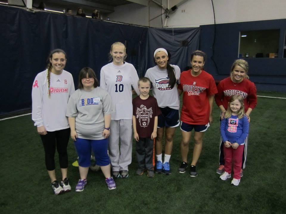 The Duquesne women's soccer team will host the 3rd annual TOPSoccer Day