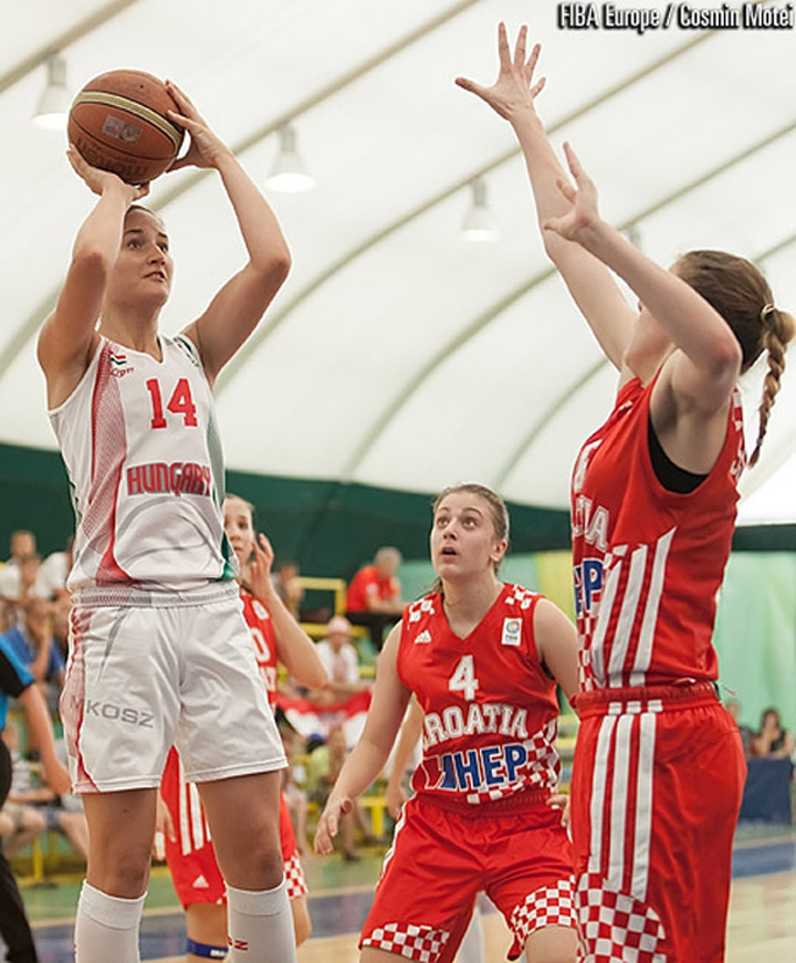 Eniko Kuttor is a 6-1 forward from Budapest, Hungary