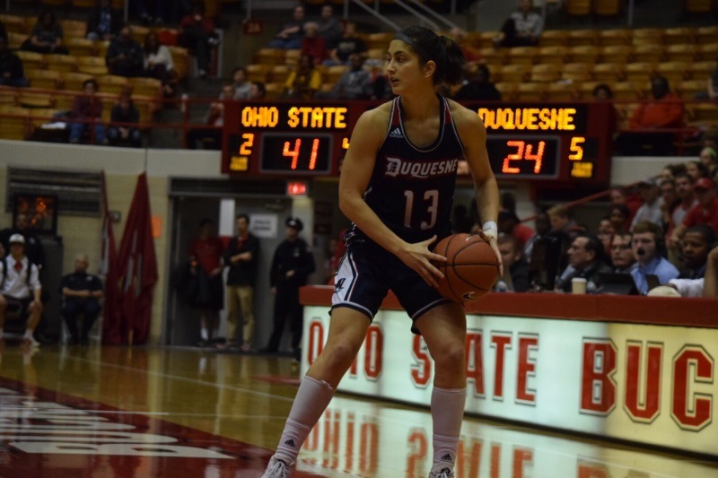 Julijana Vojinovic is coming off a career-high 16 points at Ohio State on Friday