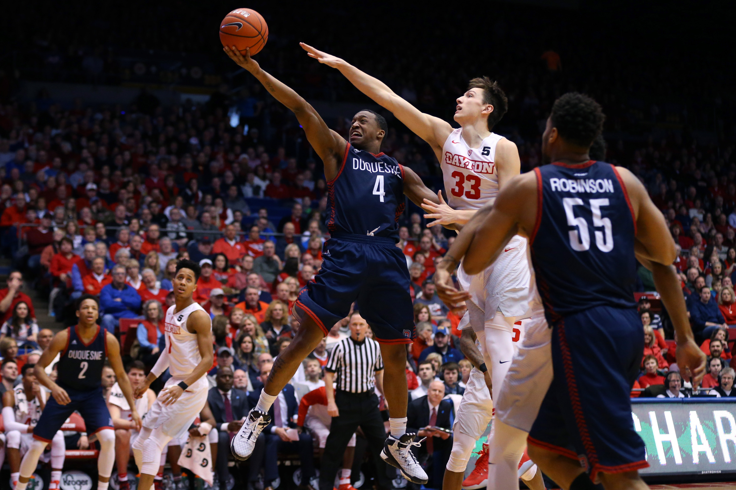 Duquesne's Dec. 30 vs. Dayton is one of four that will air of AT&T SportsNet Pittsburgh.