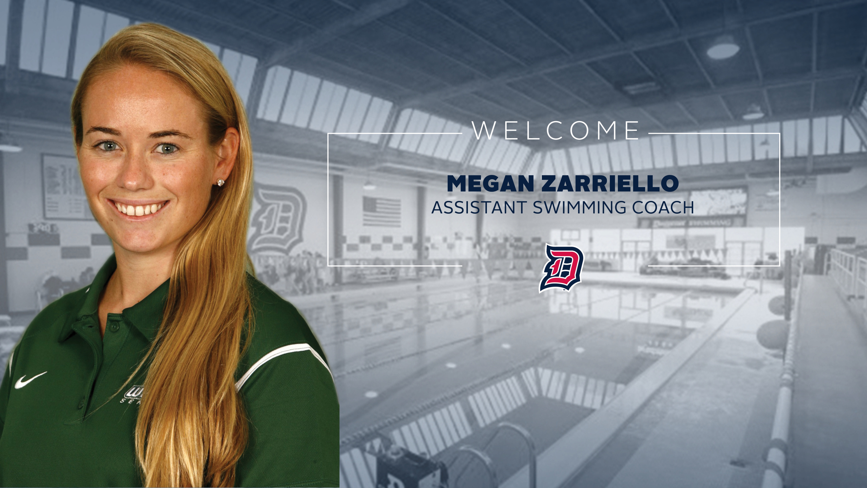 Megan Zarriello Named Assistant Swimming Coach Duquesne University