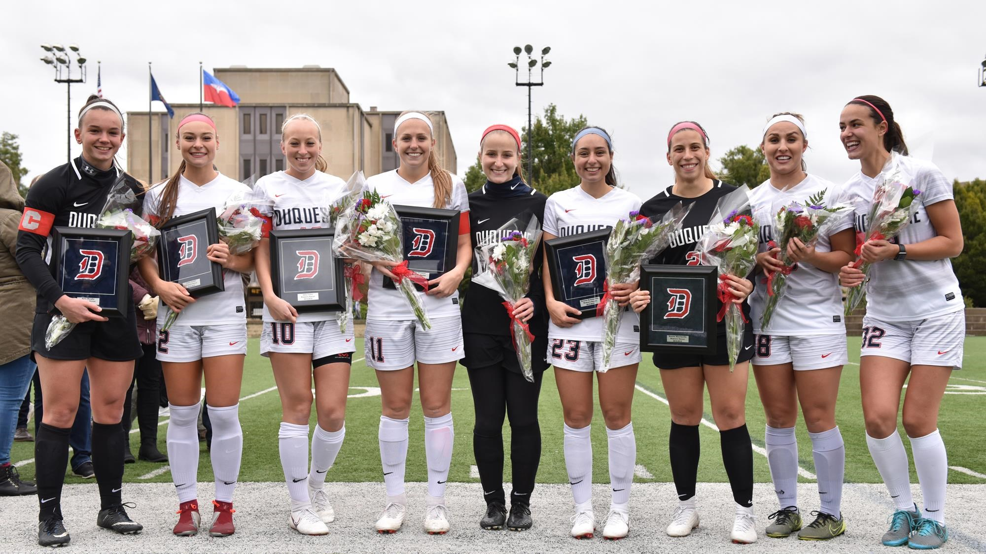 @DuqWSoccer Sends Seniors Out in Style in 1-0 Win Over Fordham