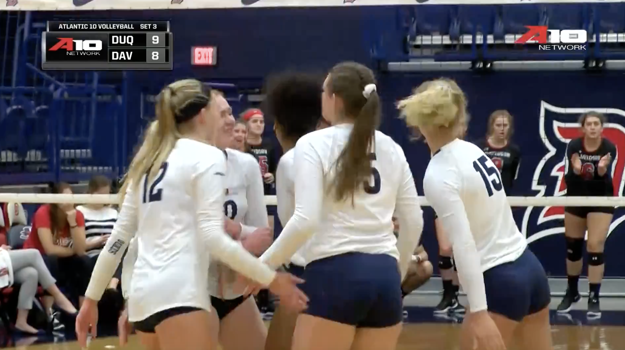 @DuqVB Wins Five-Set Thriller Versus Davidson