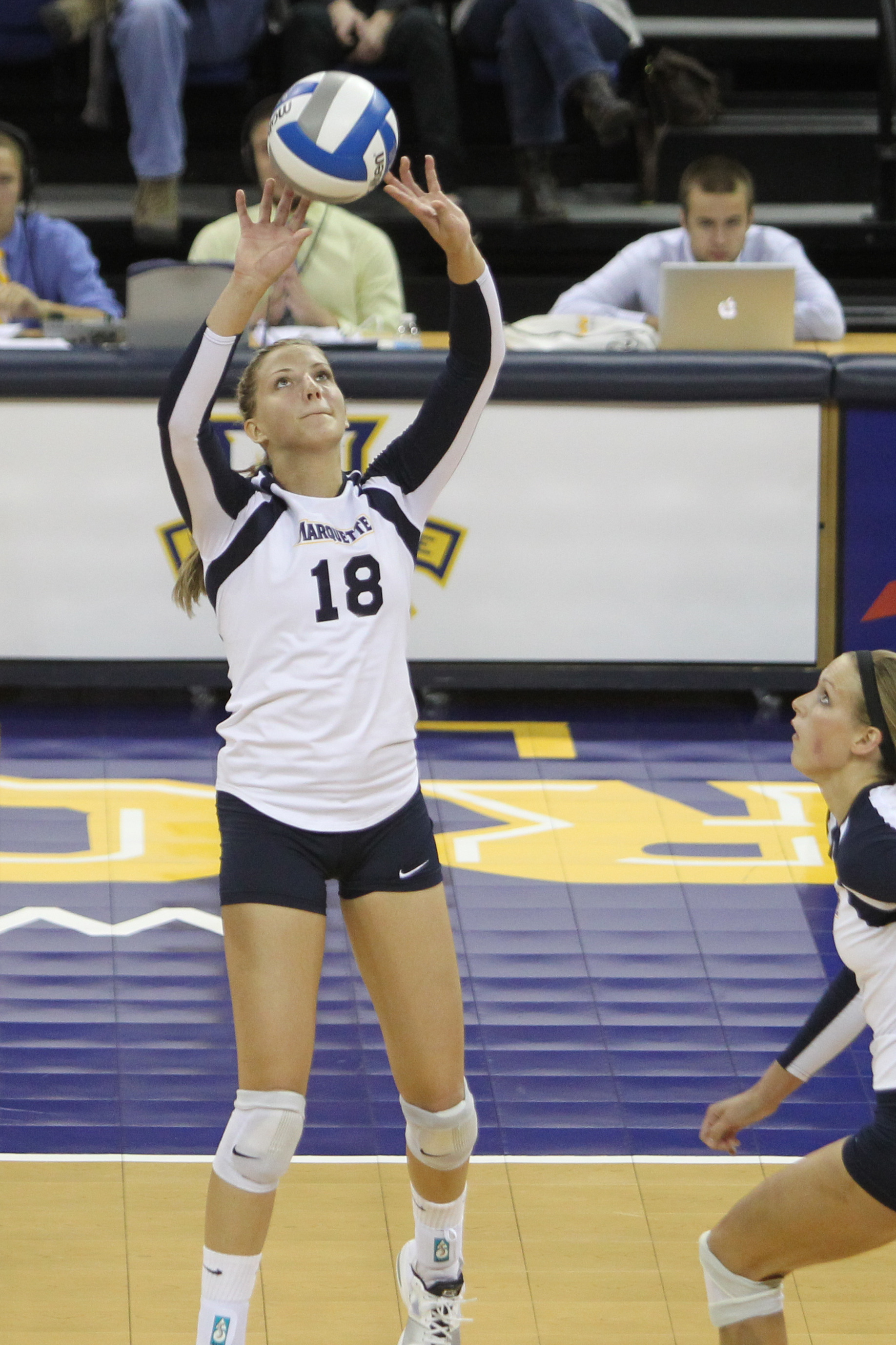 Koberstein leads a prolific Marquette offense that ranks in the top 10 of three of the nation's major statistical categories.