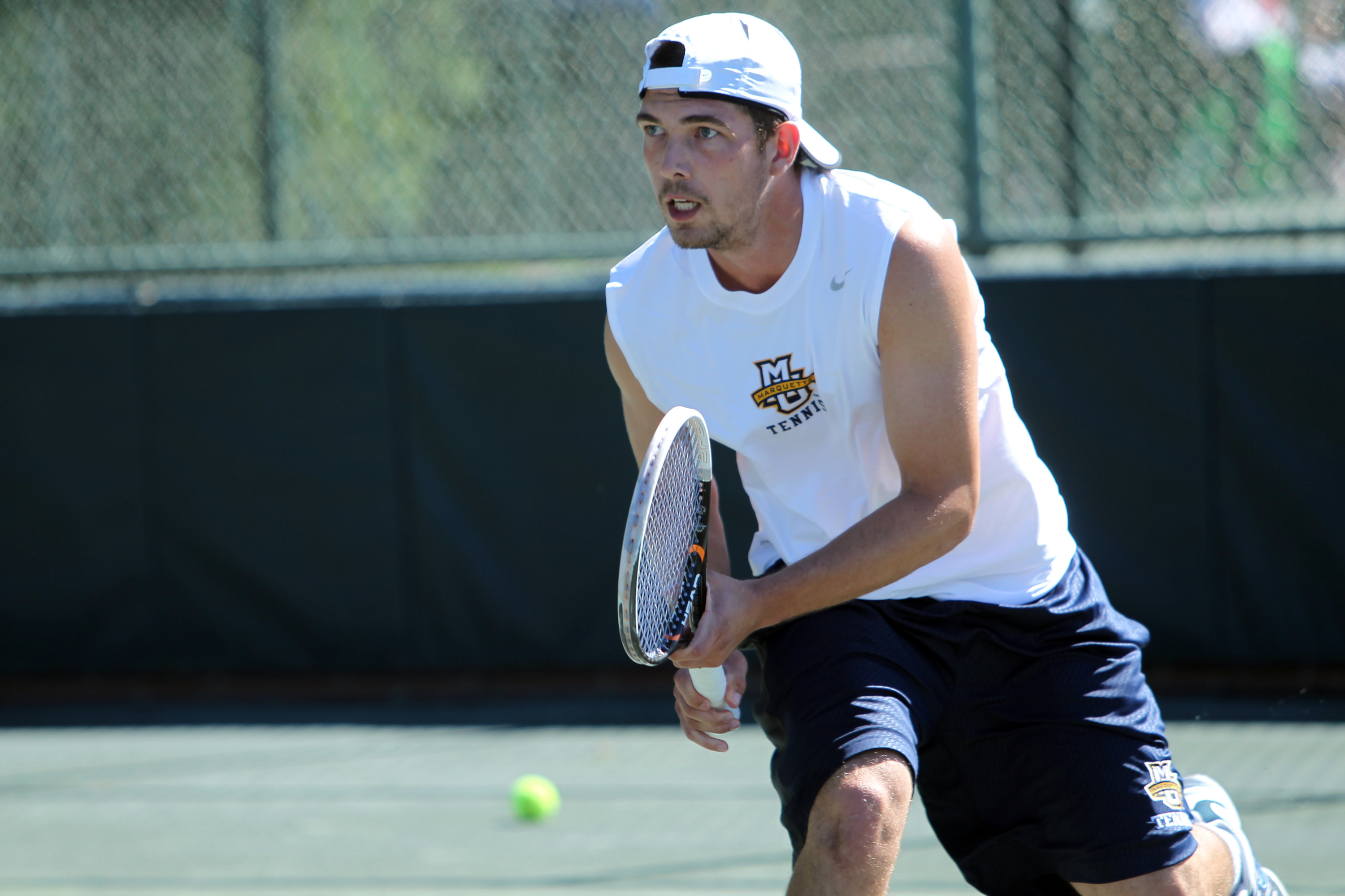 Vukasin Teofanovic nearly picked up his first nationally ranked win this year.