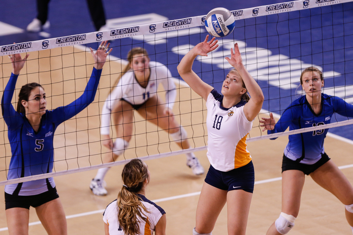 Koberstein ended her senior season third in NCAA Division I in assists per set.