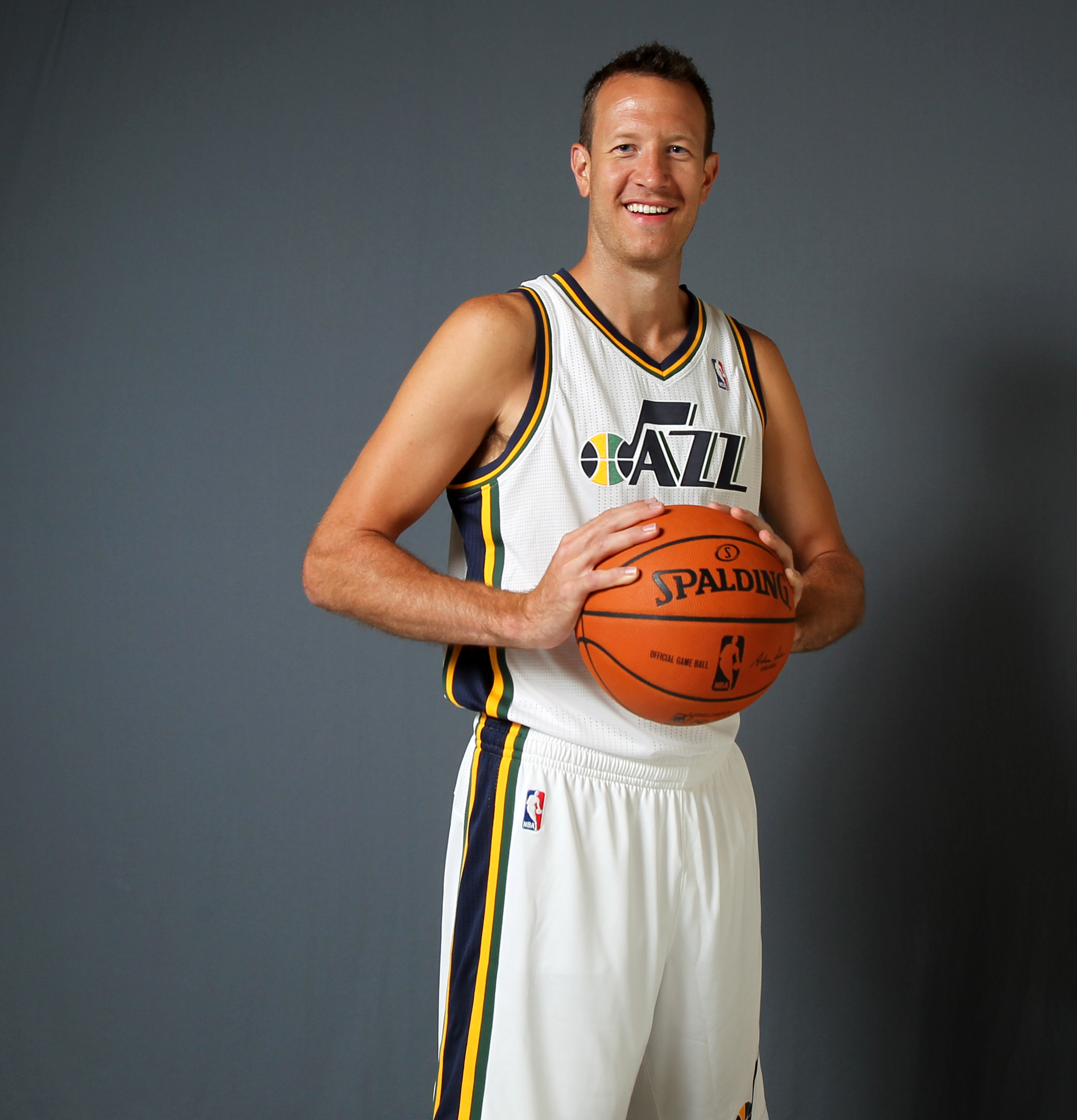 The 204-15 campaign will be the first for Steve Novak with the Utah Jazz.