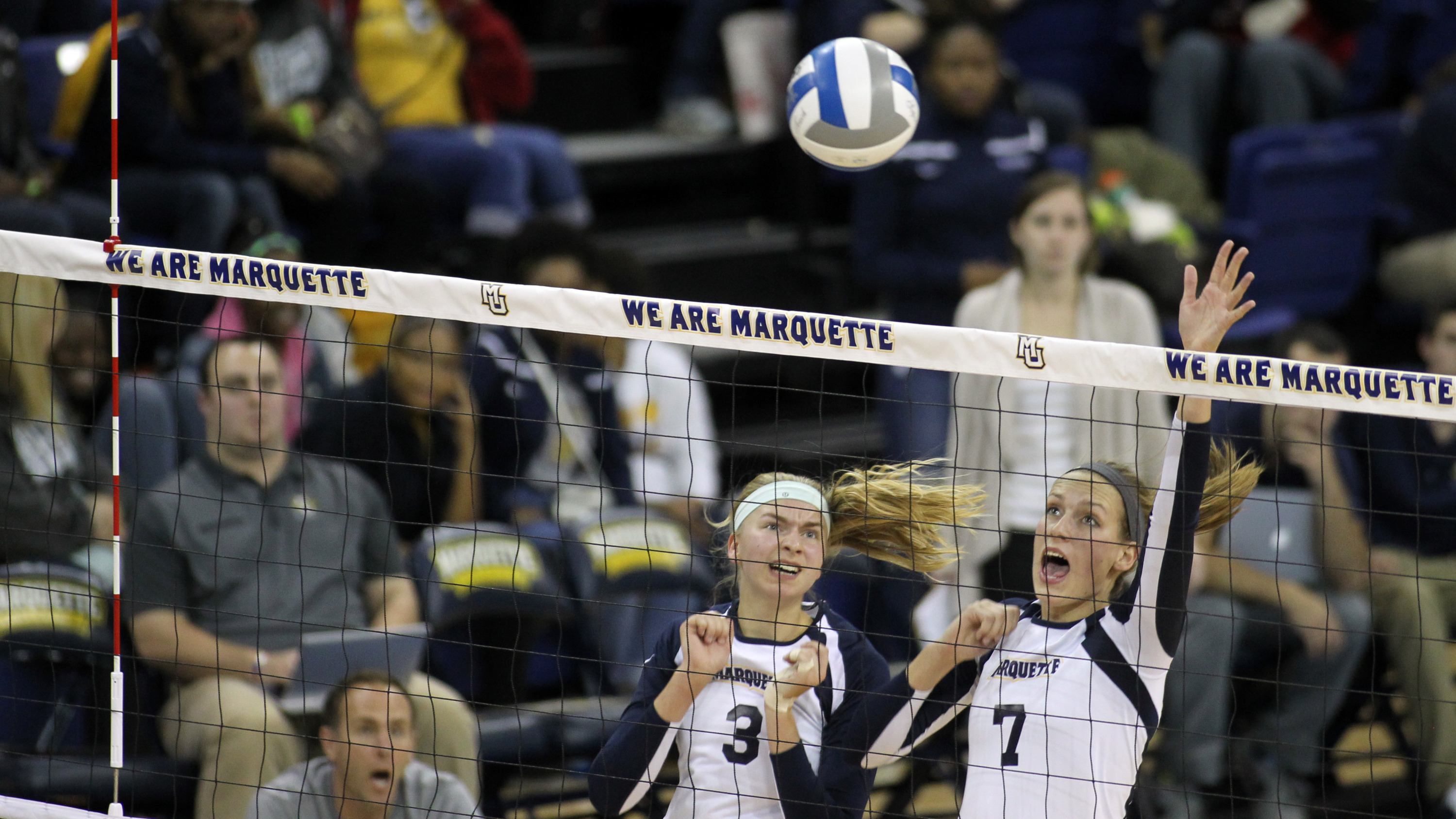 Niemann posted a career-high block total on Sunday at Georgetown.
