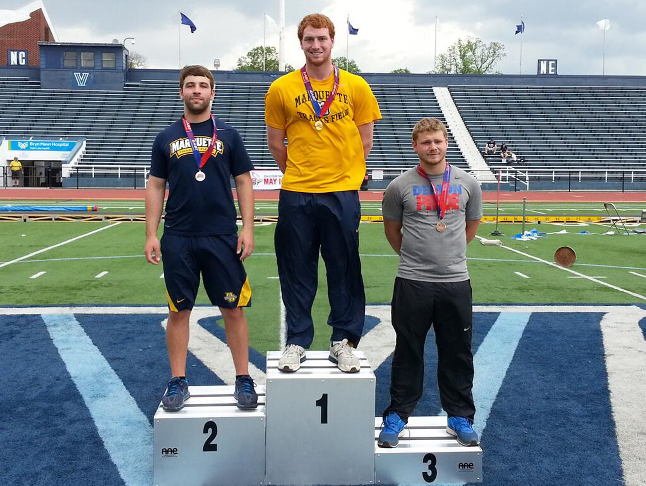 Bret Hardin and Will Koeck return as two of the top throwers in the BIG EAST for their final seasons.