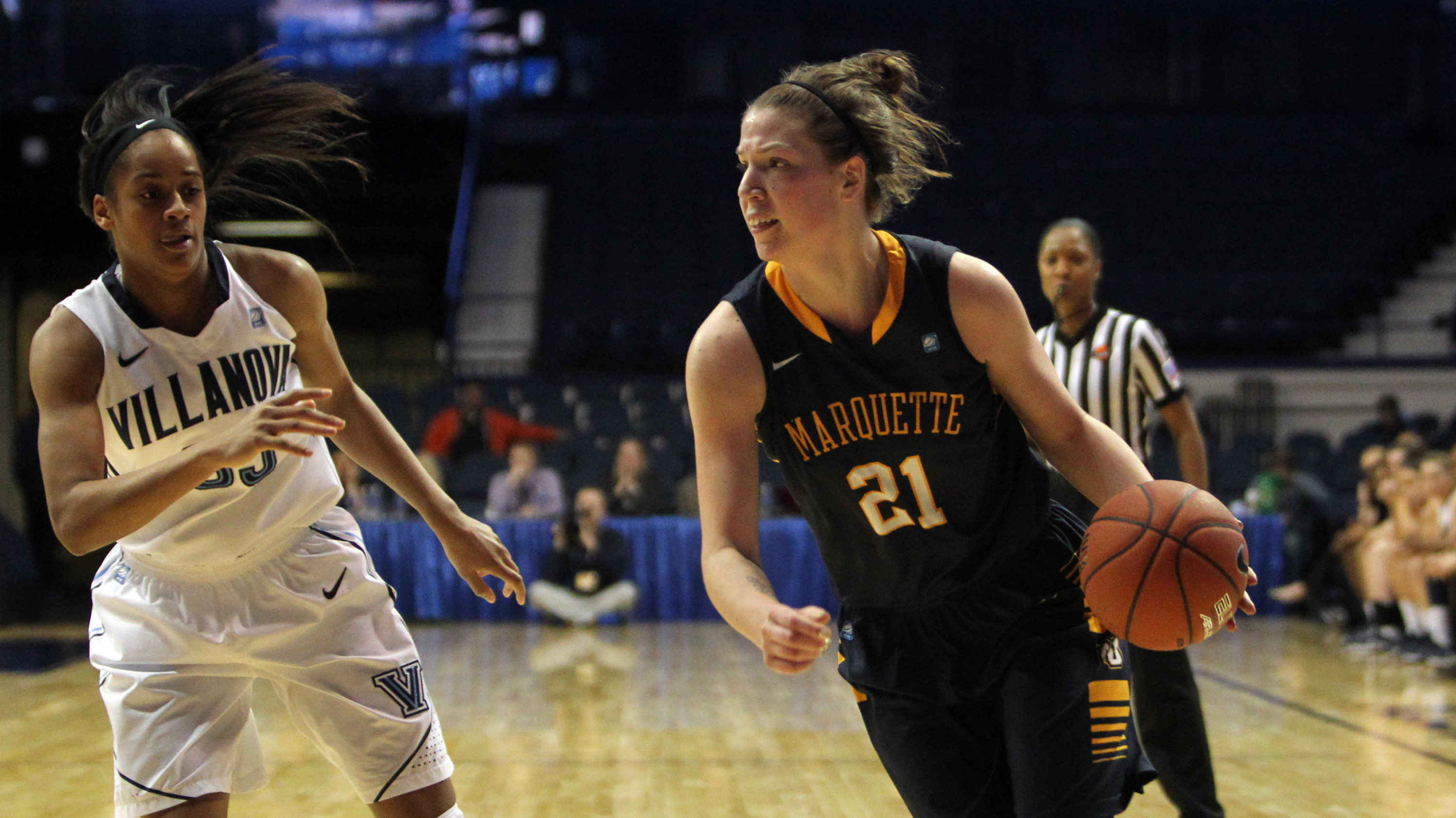Katherine Plouffe notched her 12th double-double