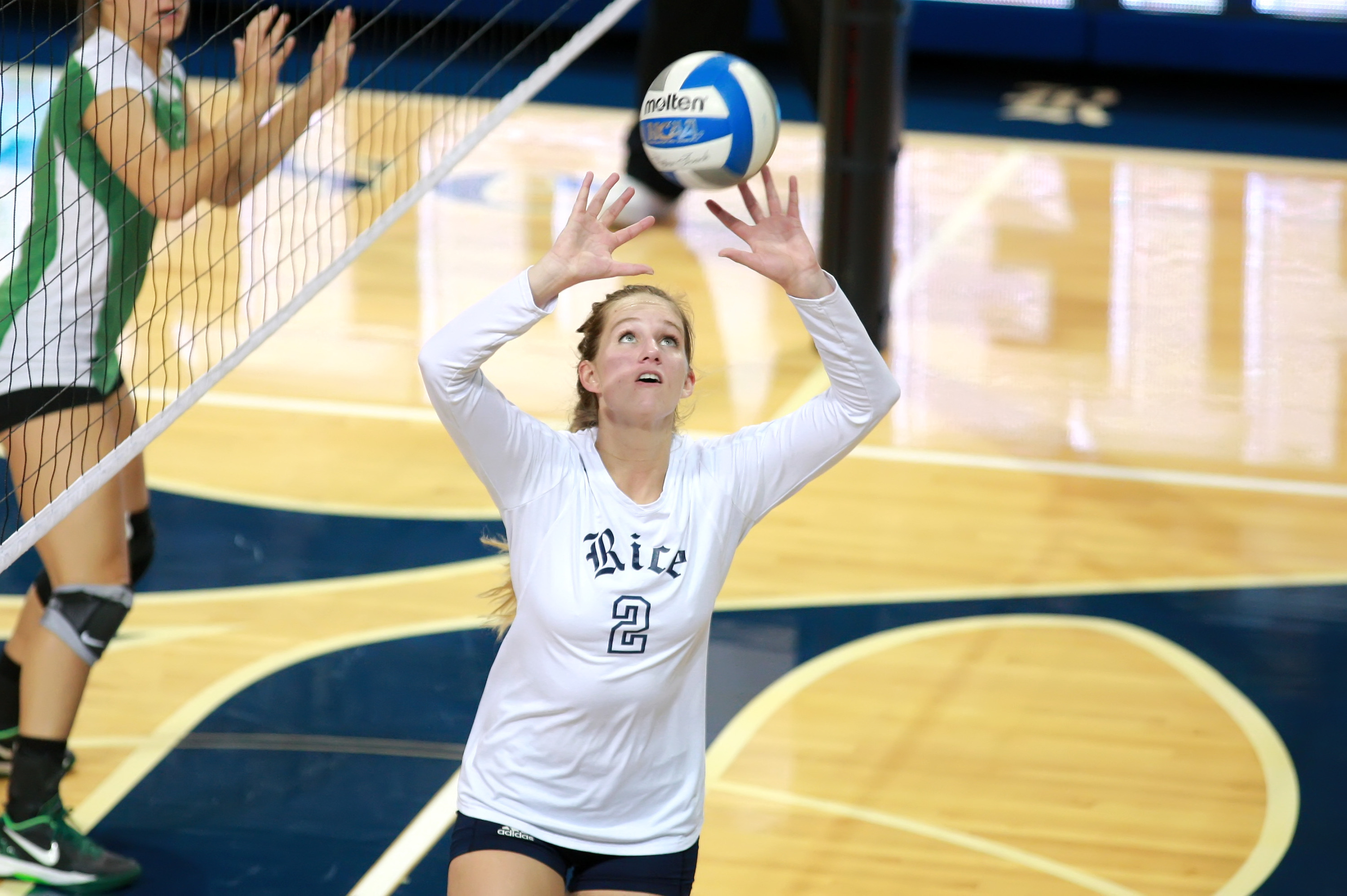 Sara Blasier was a two-time all-conference performer at Rice (photo courtesy Rice Athletics).