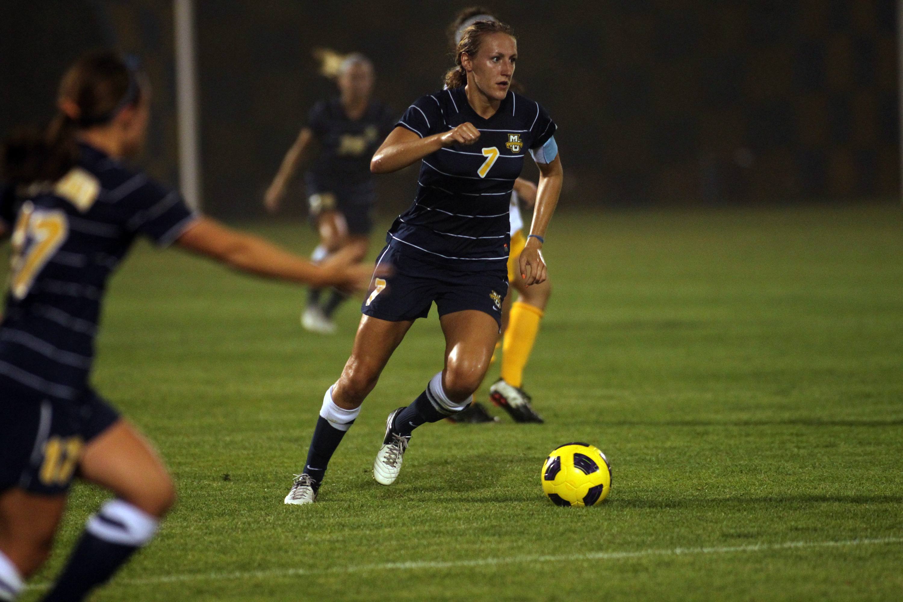 Morgan Proffitt (pictured), Jacie Jermier and Ashley Handwork will play with the Chicago Red Stars Reserves in the WPSL semifinals on Saturday.