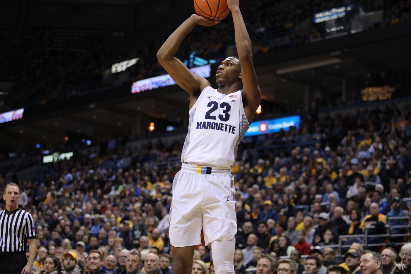 Freshman Jamal Cain poured in a career-best 16 points with four 3-pointers.
