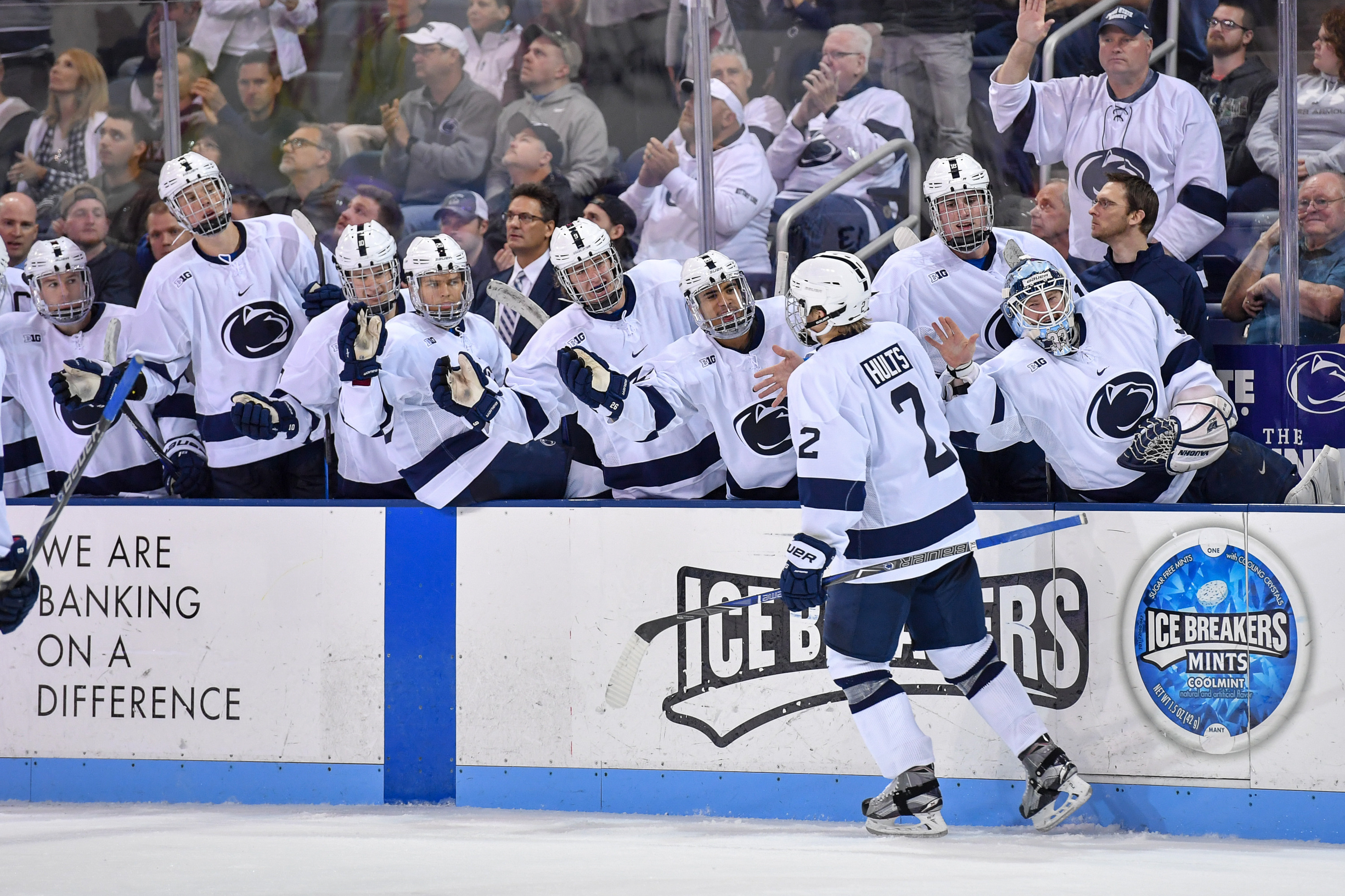 men's hockey set for international game vs. brock - penn state