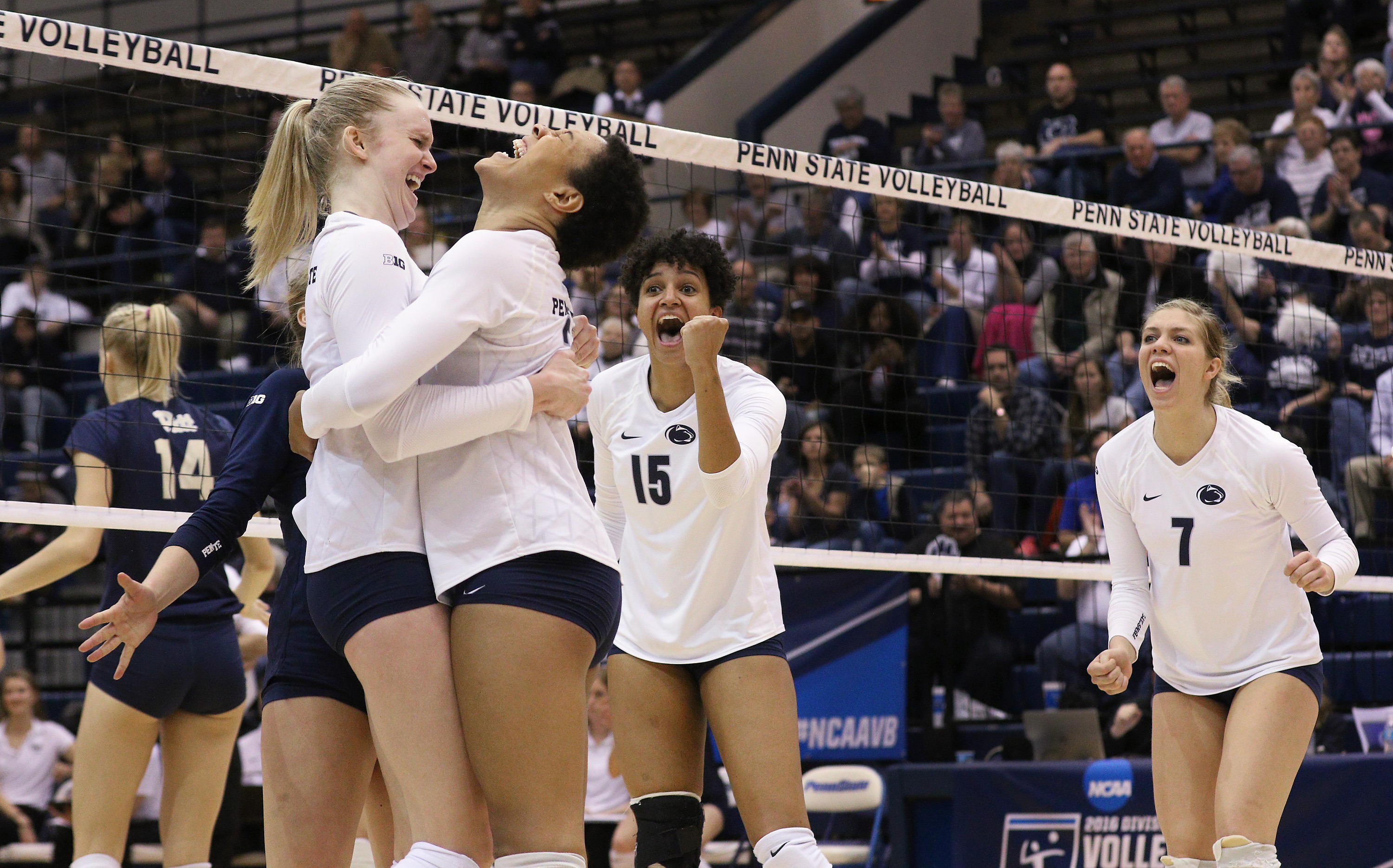 wvb claims ncaa no. 1 seed overall - penn state university athletics