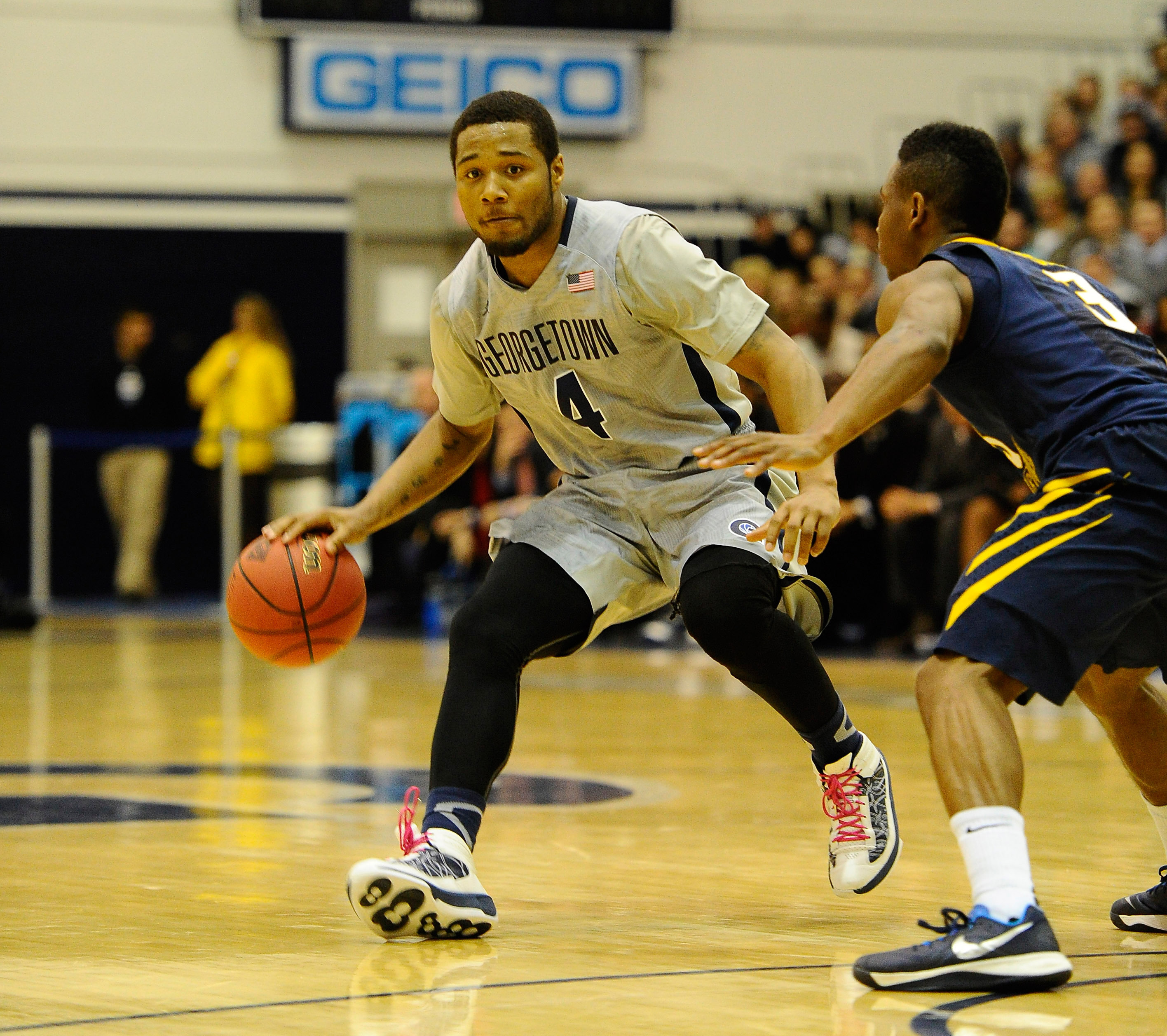 Junior guard D'Vauntes Smith-Rivera was selected as the BIG EAST Preseason Player of the Year and the Hoyas were picked to finish second in the BIG EAST.