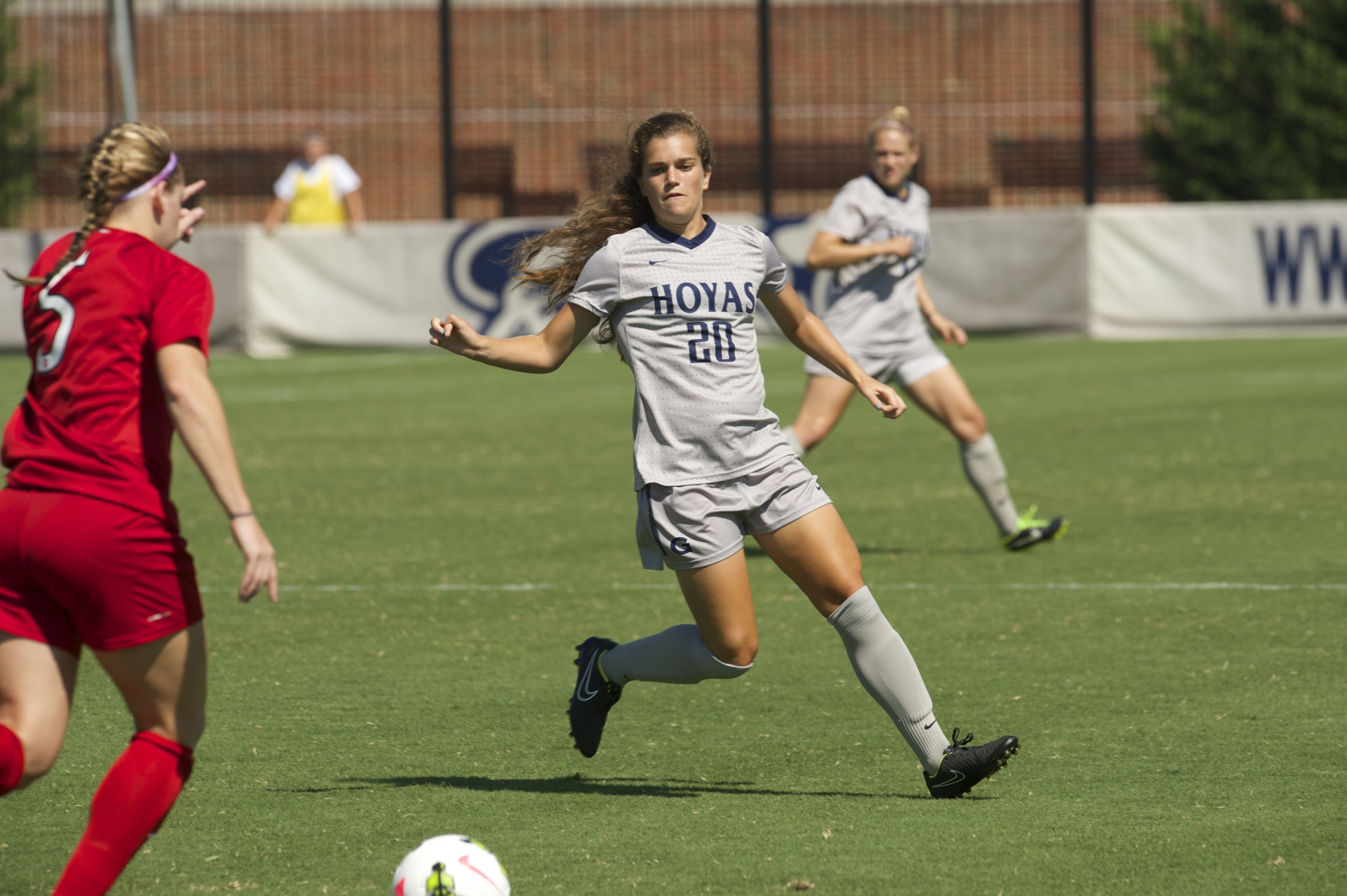 Freshman Rachel Corboz was named the BIG EAST Rookie of the Week on Monday.