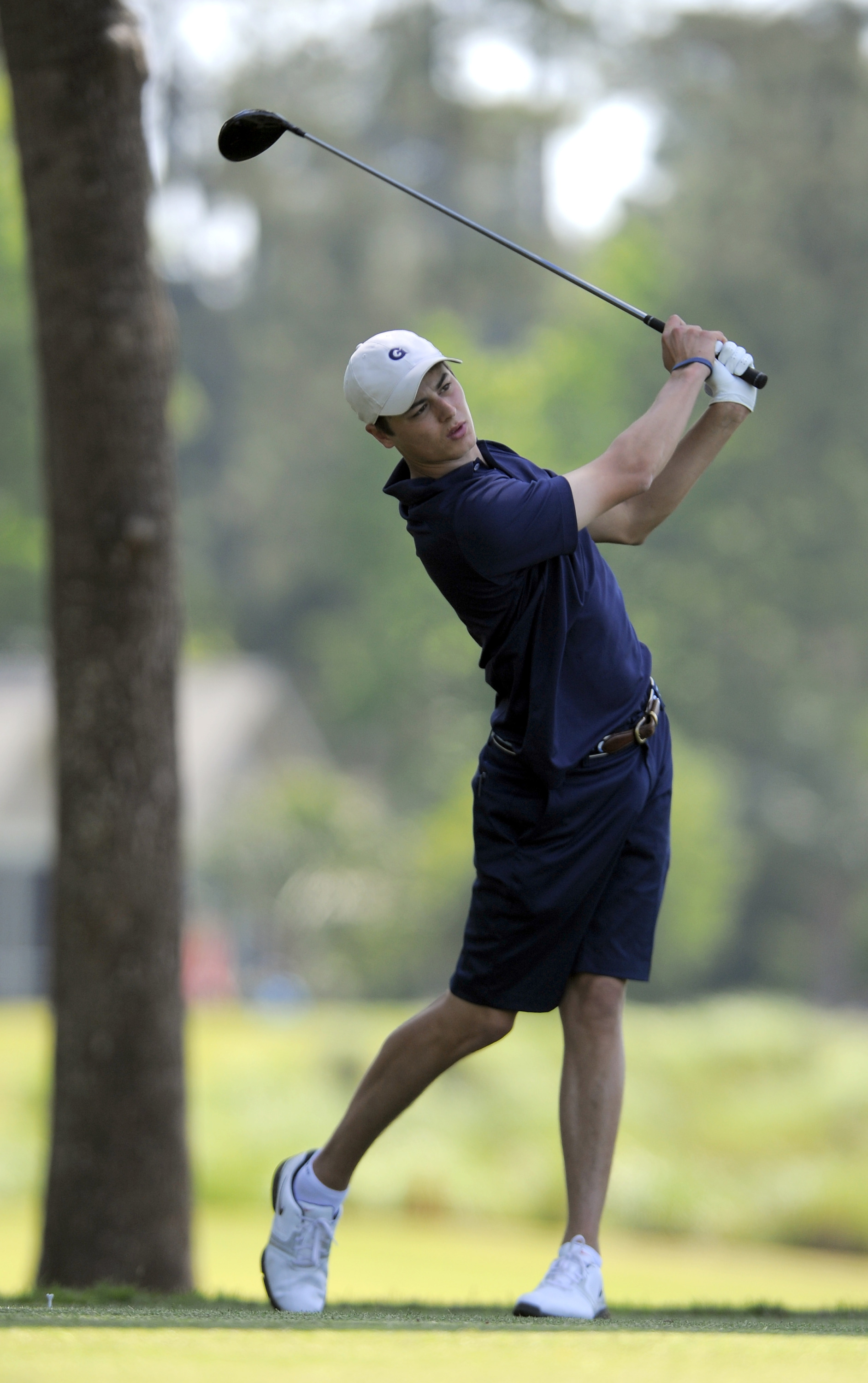 Austin Rendell shot a team-best two-over par 74 on Tuesday.