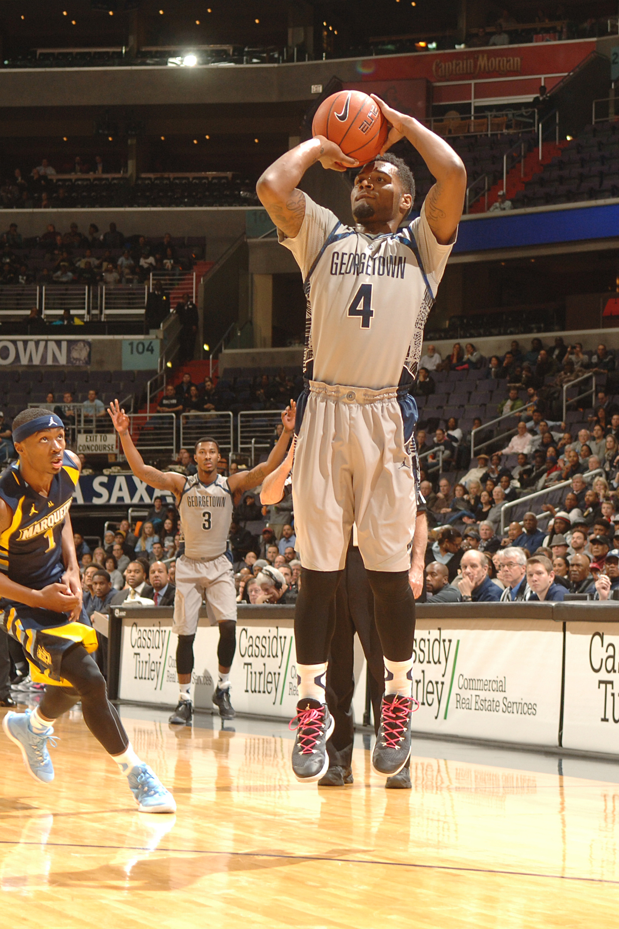Georgetown lost to Providence, 60-57, on Saturday.