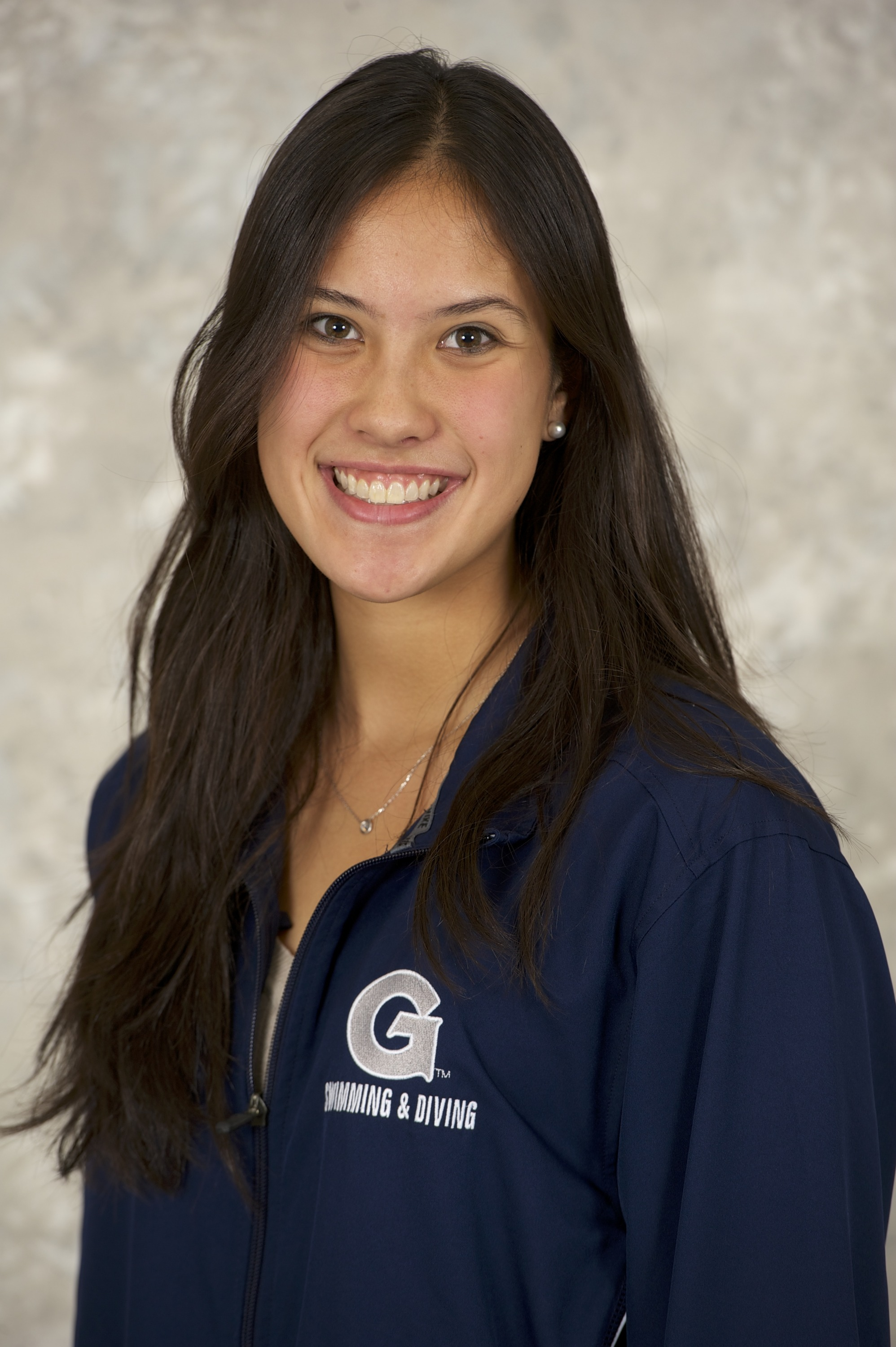 Katie Duncalf broke a pool record in the 200 yard backstroke and was part of the women's 400 yard medley relay squad.