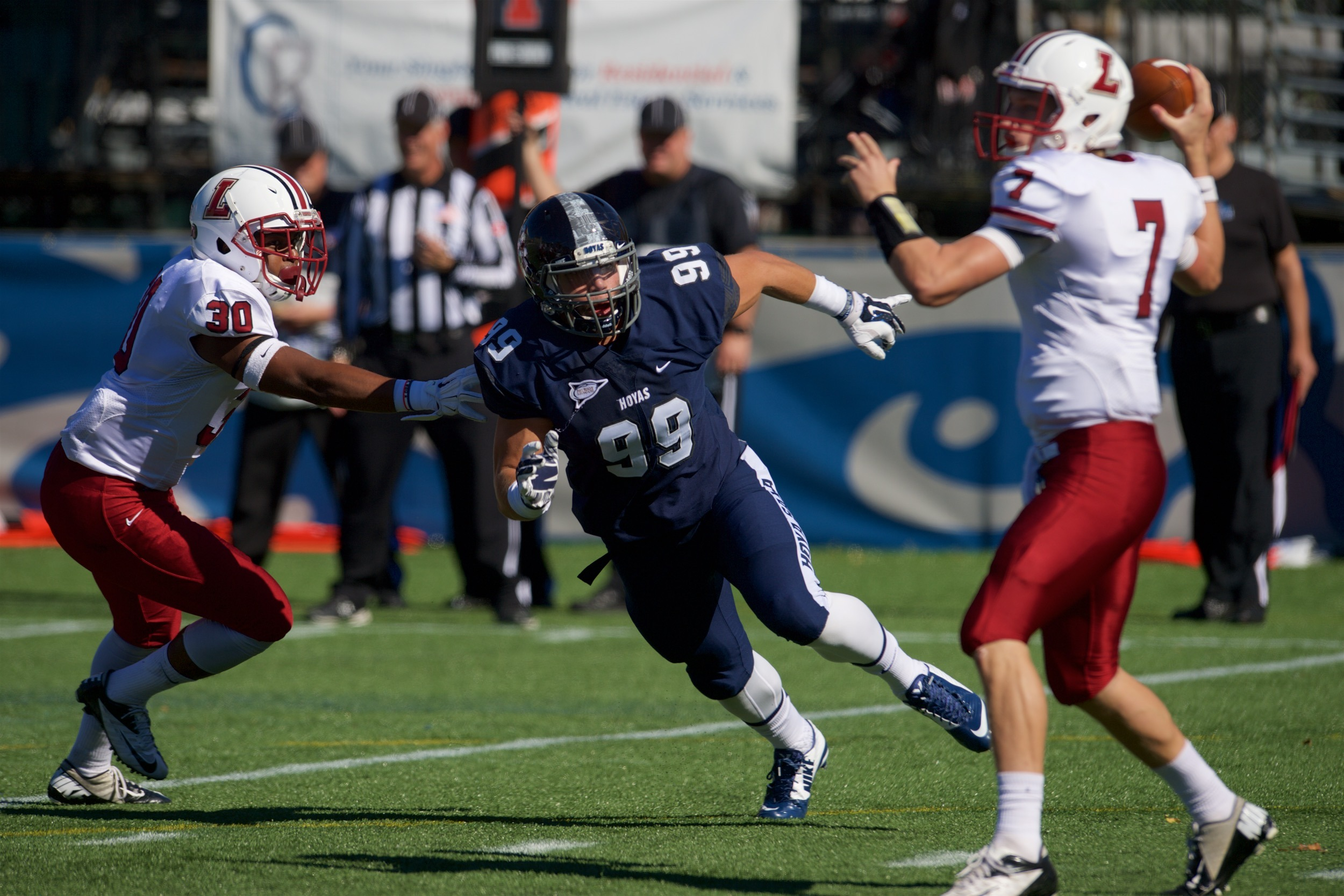 Phil Novacki was named to his first Patriot League All-Academic Team.