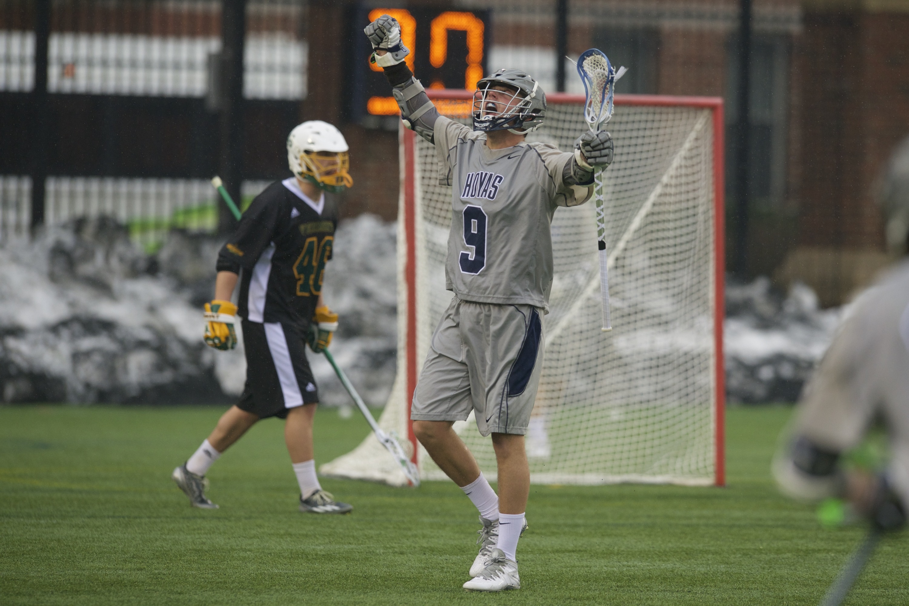 Senior attack Reilly O'Connor had a season-high seven points in Georgetown's win over Vermont.