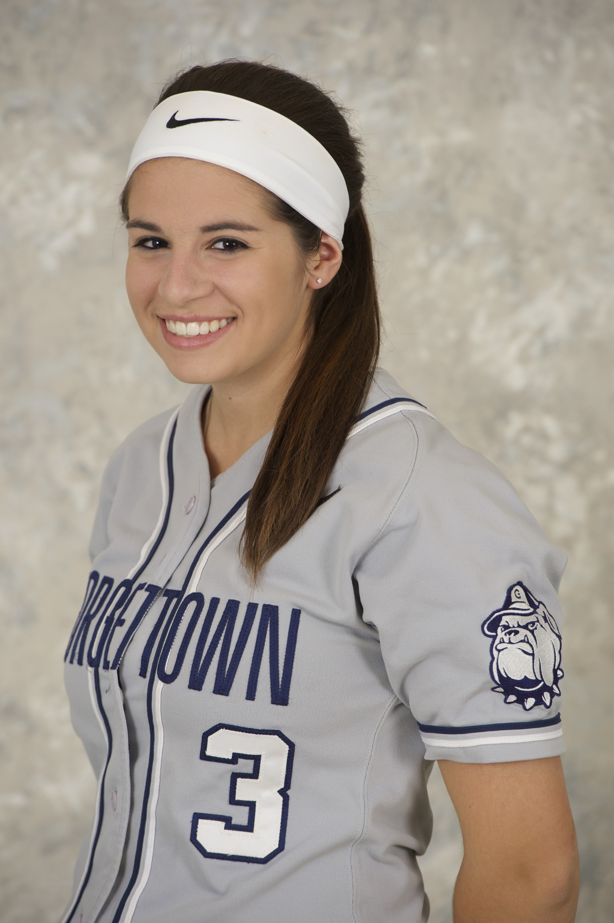 <b> Freshman Theresa Kane was one of two Hoyas with two RBI in GU's win over George Mason on Sunday afternoon.</b>