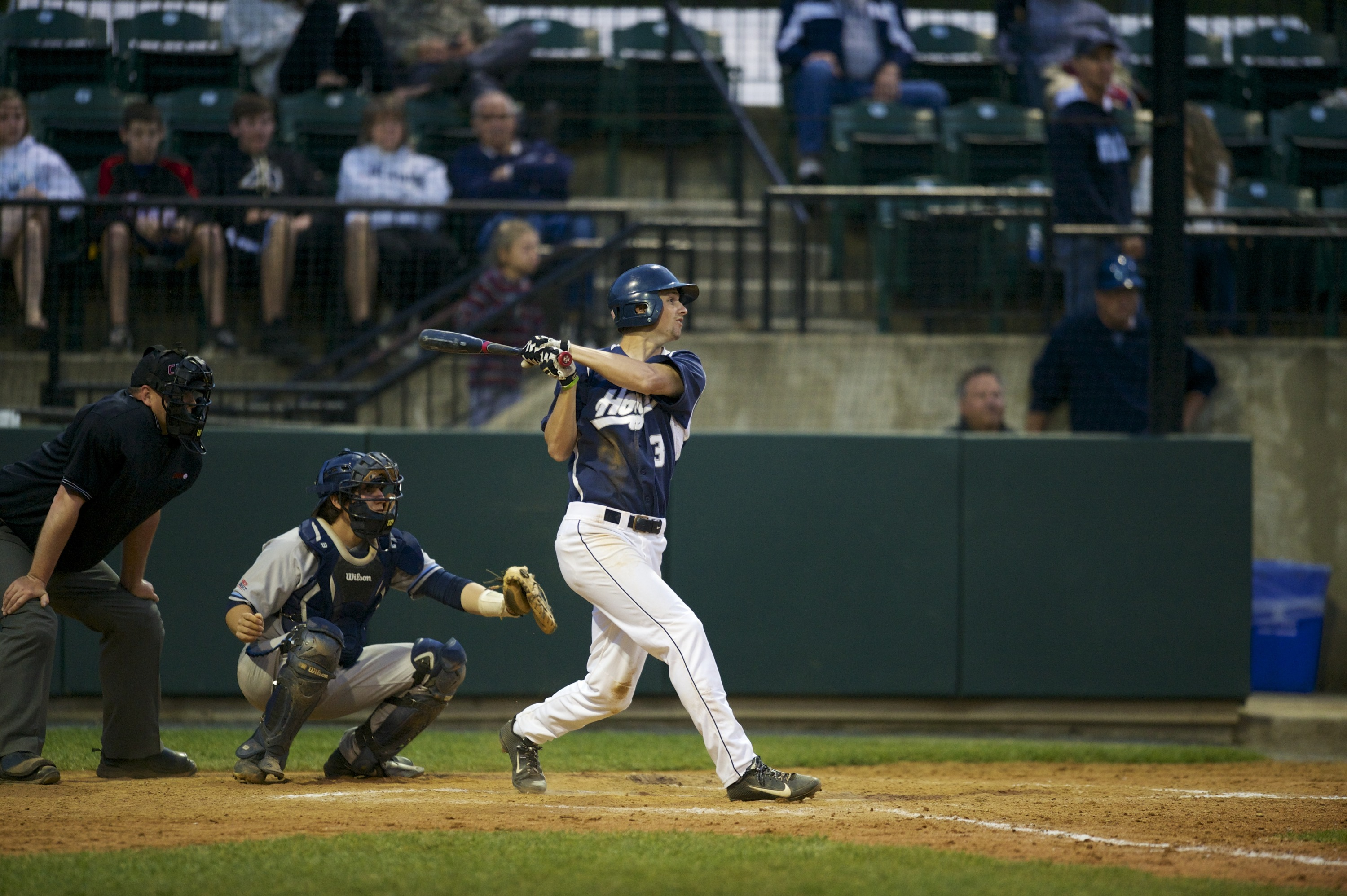 Joseph Bialkowski batted .467 (7-for-15) with a .529 on-base percentage in four games last week.