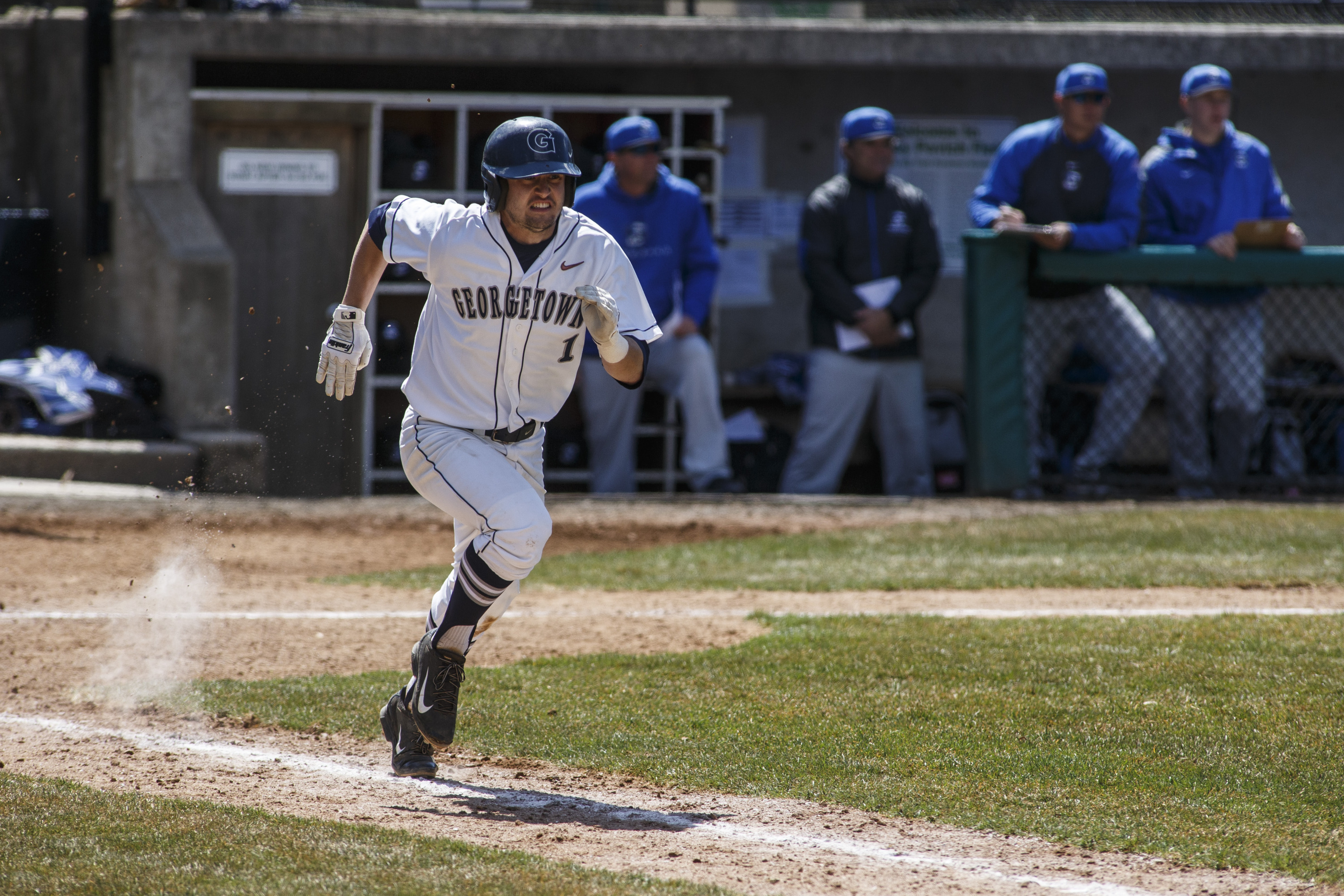 Ryan Busch had five hits, three doubles, three RBI and two runs scored.