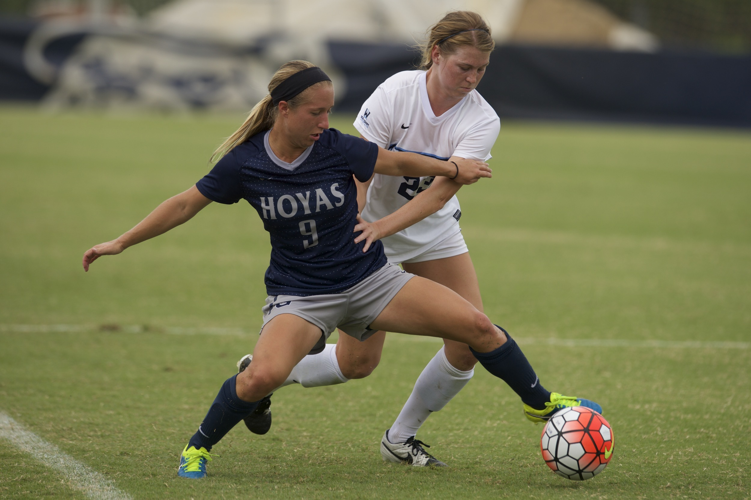 Georgetown University senior women's soccer player Crystal Thomas was selected to the BIG EAST Weekly Honor Roll on Monday.