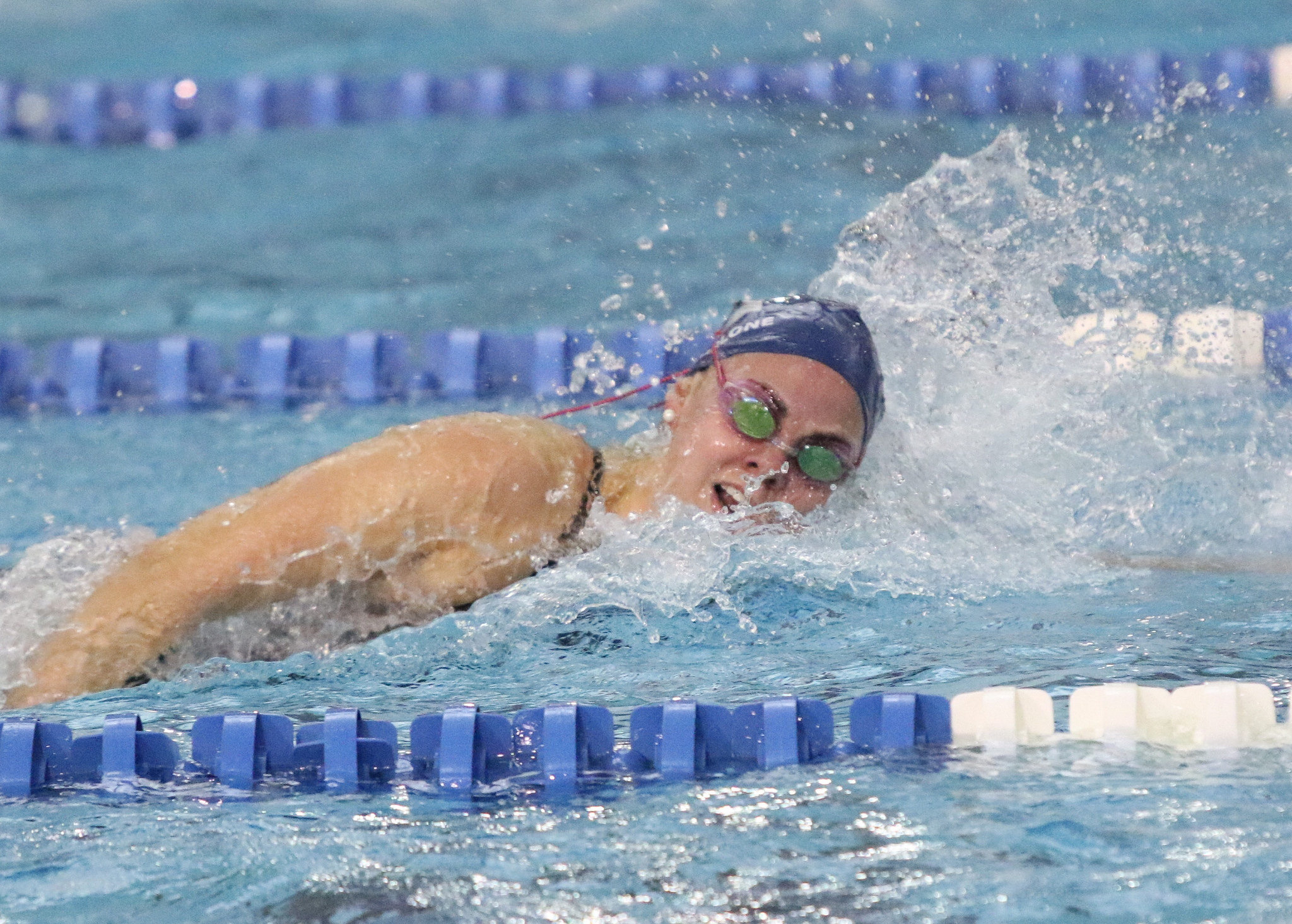 Georgetown will honor 12 student-athletes on Senior Day at McCarthy Pool.