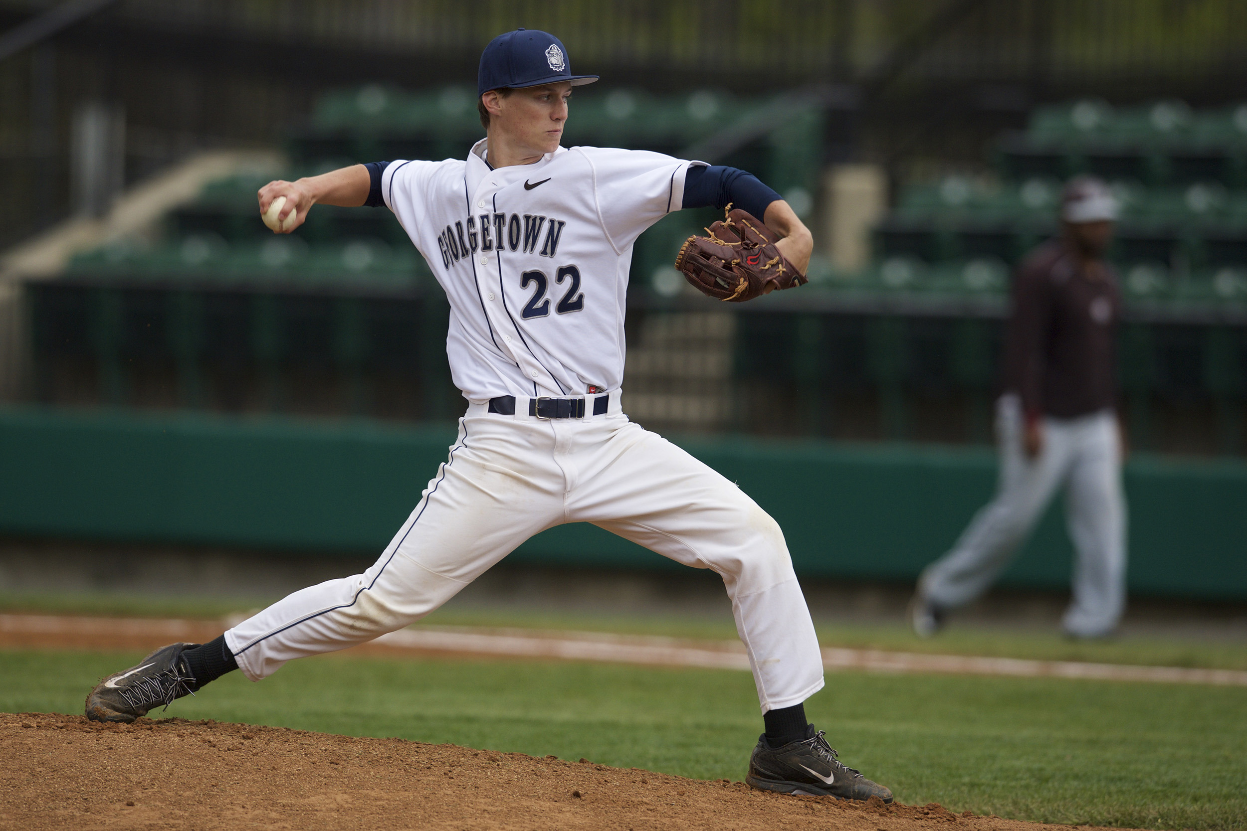 Jimmy Swad pitched two hitless innings to pick up his fourth win of the season.