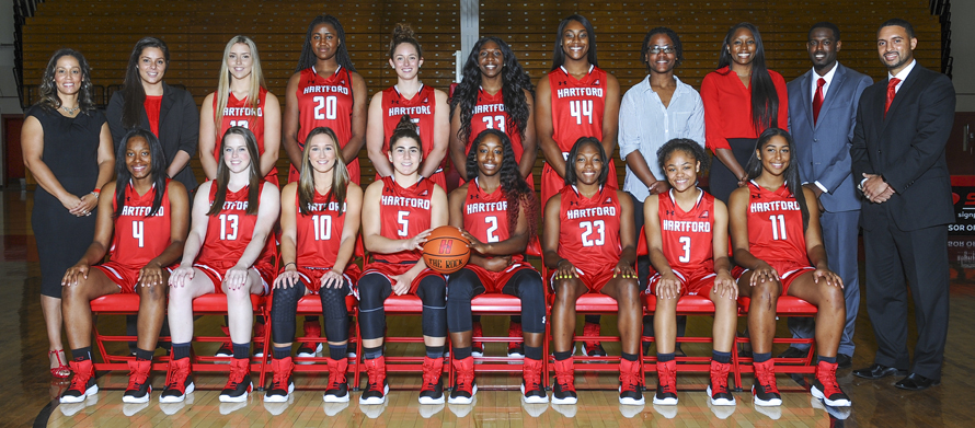 hot sales d9207 64ab3 Hartford Hawks Athletics - 2017-18 Women's Basketball Roster