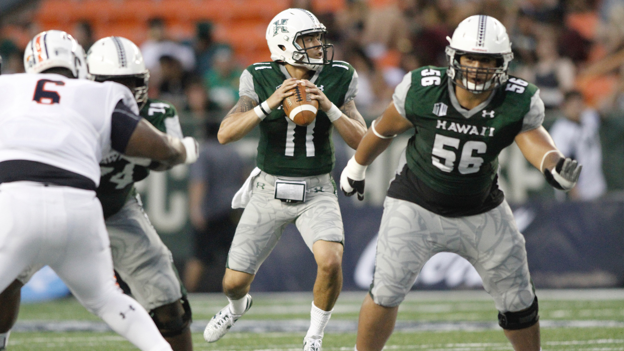 Ikaika Woolsey Football University Of Hawai I At Manoa