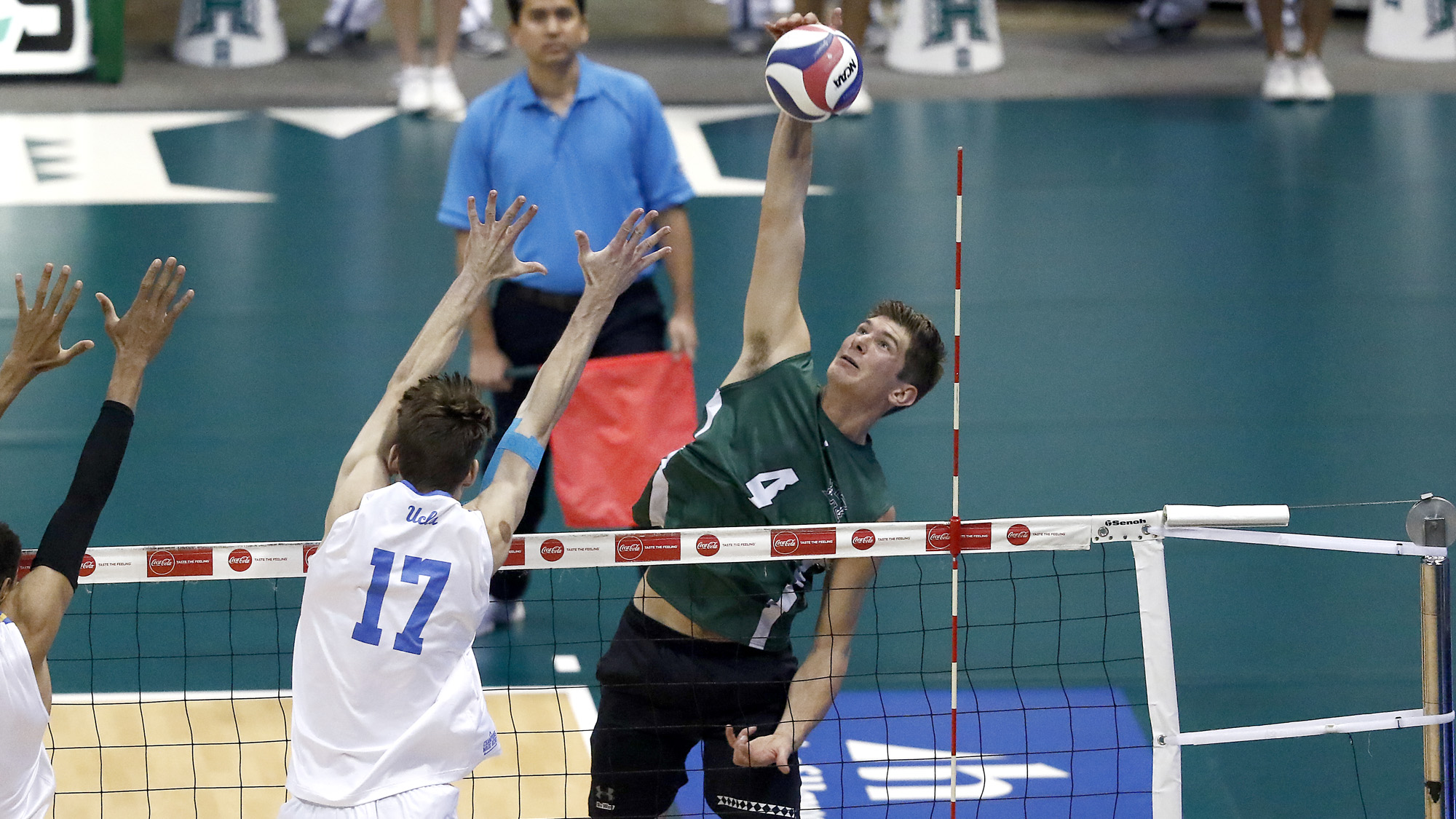 Men's Volleyball Earns First-Ever Series Sweep At UCSB ...