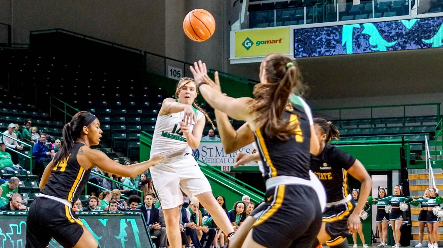 Women S Basketball Travels South To Appalachian State Marshall