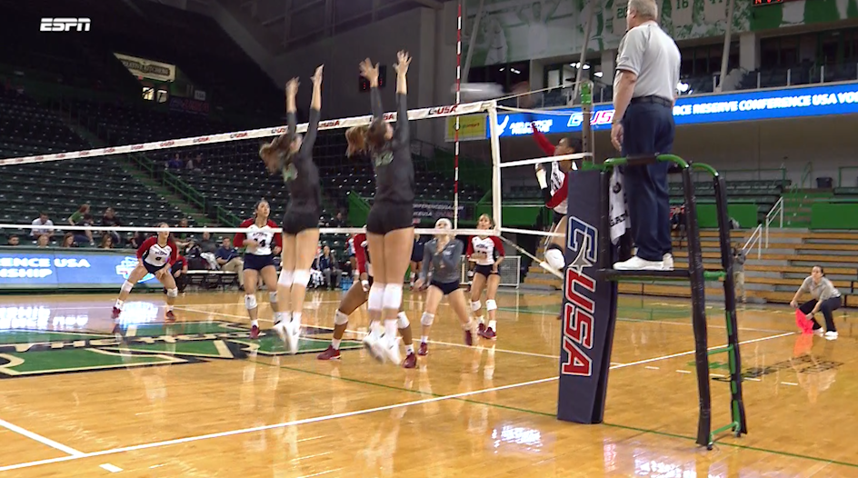 North Texas Volleyball: C-USA Quarter Finals - FAU vs North Texas Highlights