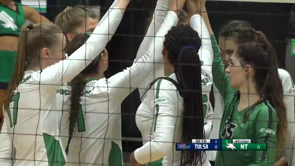 VB: NIVC - Tulsa vs North Texas - NT Highlights