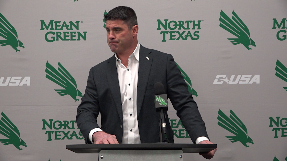 North Texas Football: Seth Littrell Signing Day Press Conference