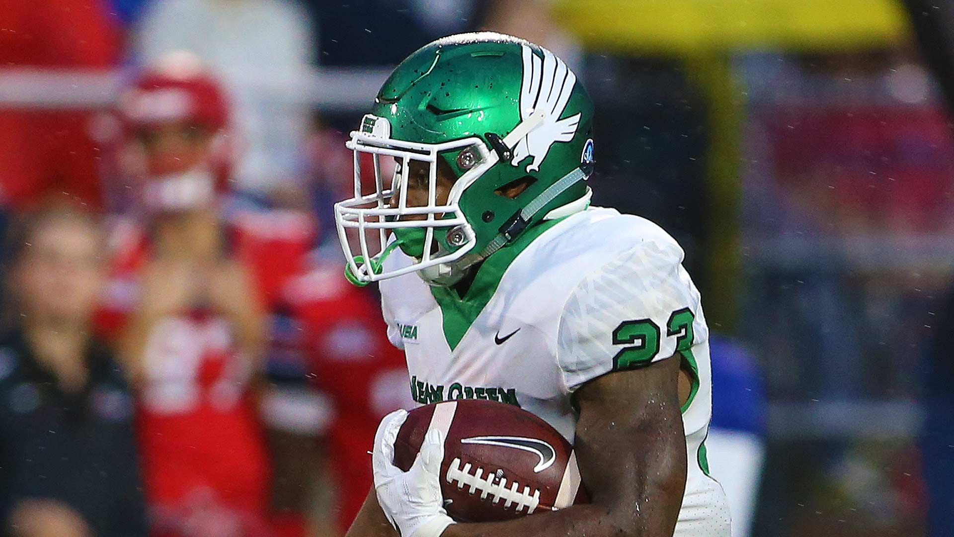 Loren Easley rushed for 177 yards and two scores against Liberty