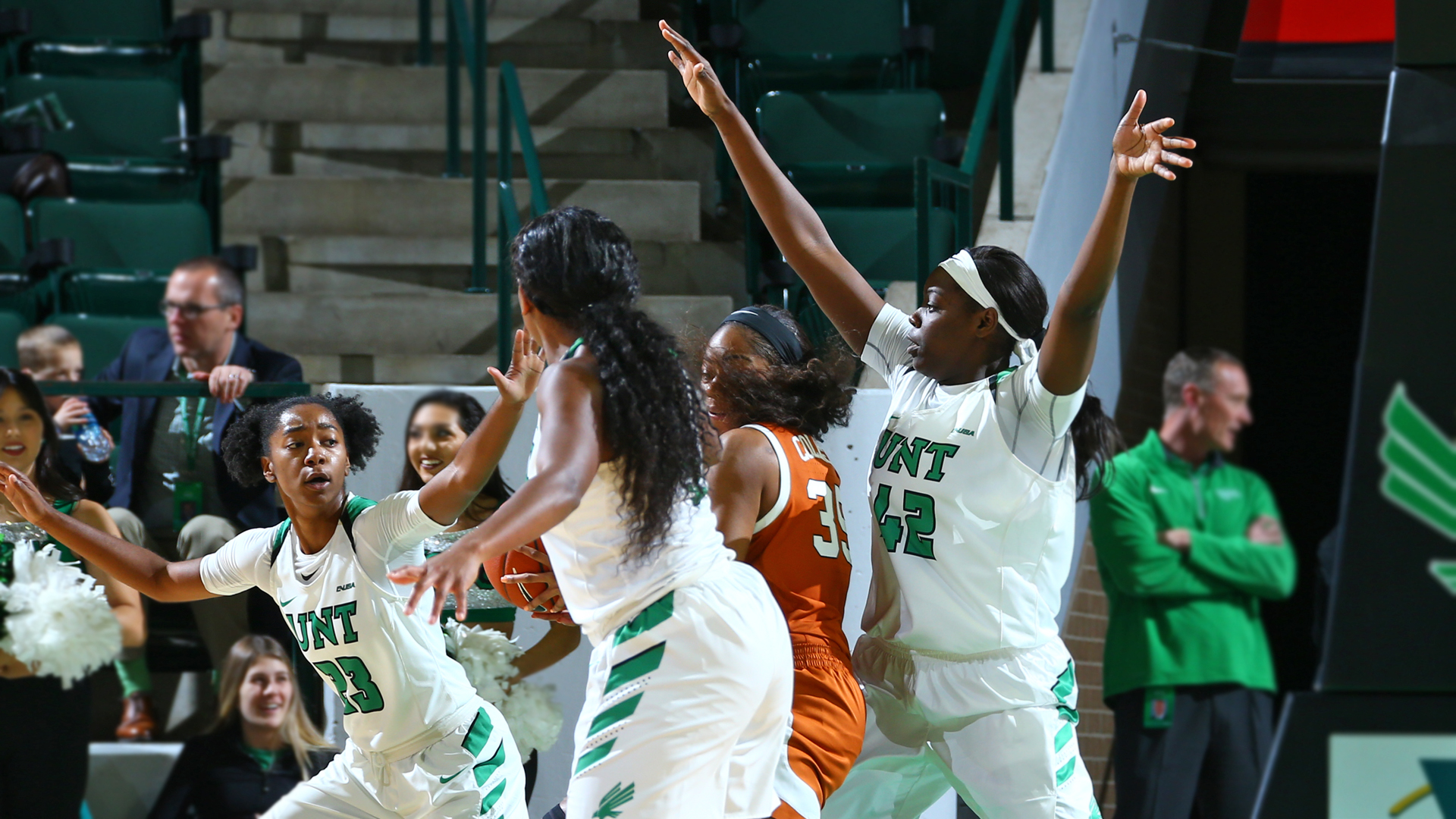 North Texas WBB: Highlights at USM 1/5/19