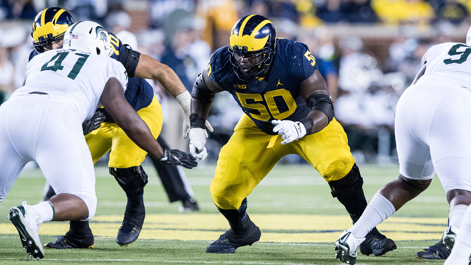 Michael Onwenu - Football - University of Michigan Athletics b76519522